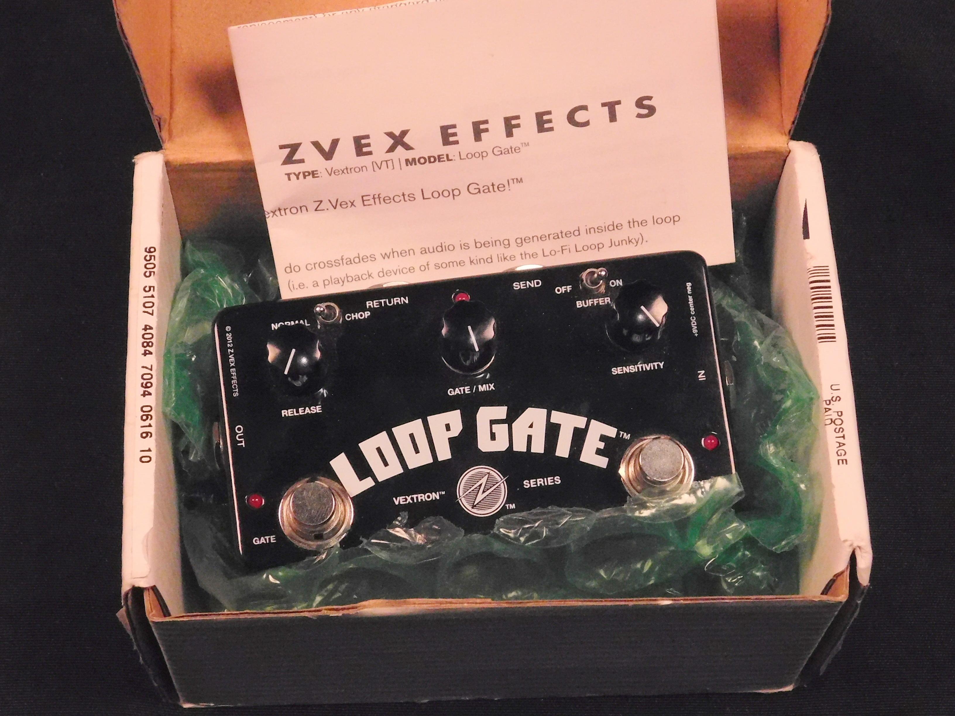 ZVEX LOOP GATE EFFECTS PEDAL IN ORIGINAL BOX - Z.VEX