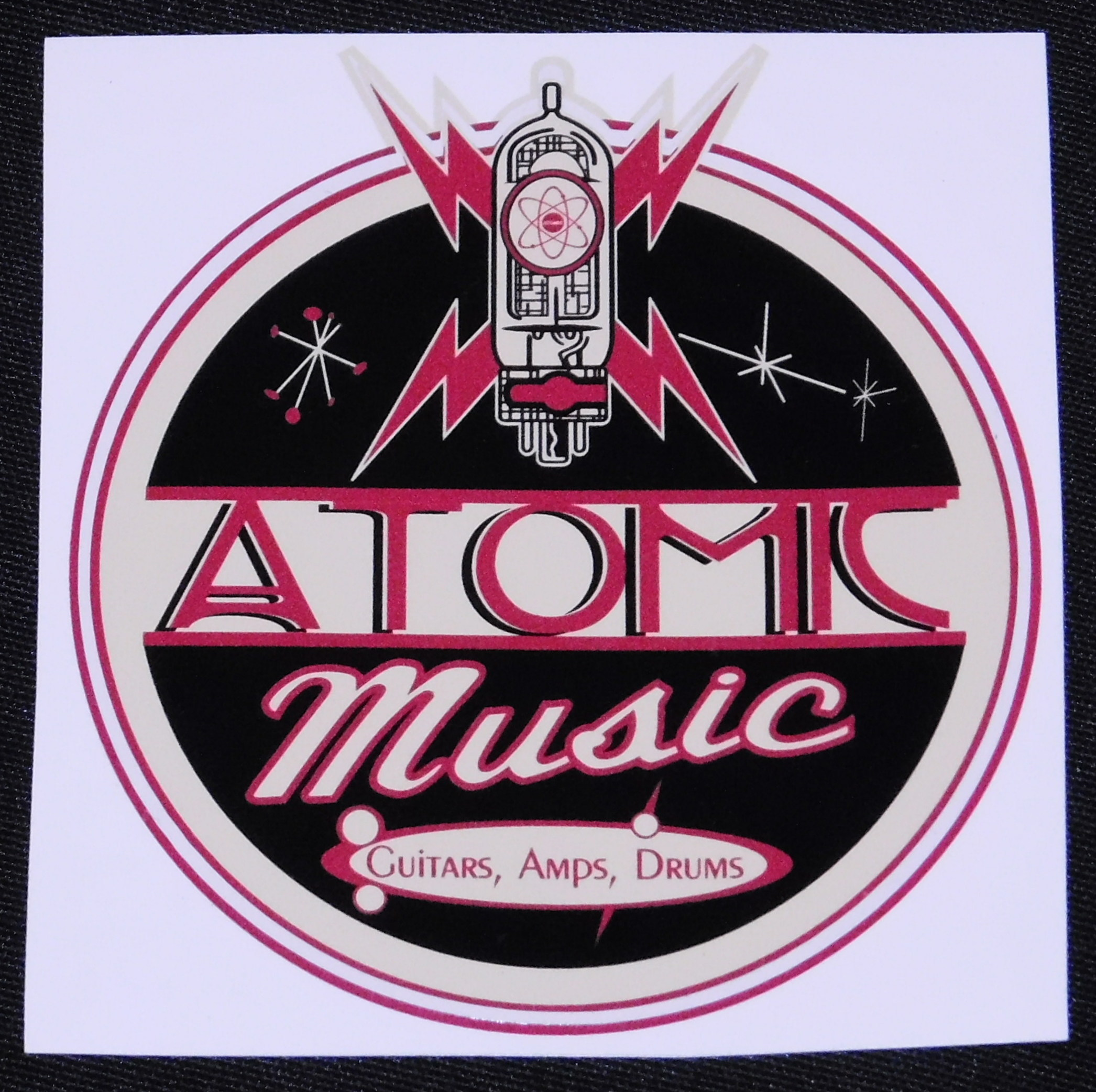 ATOMIC MUSIC STICKER