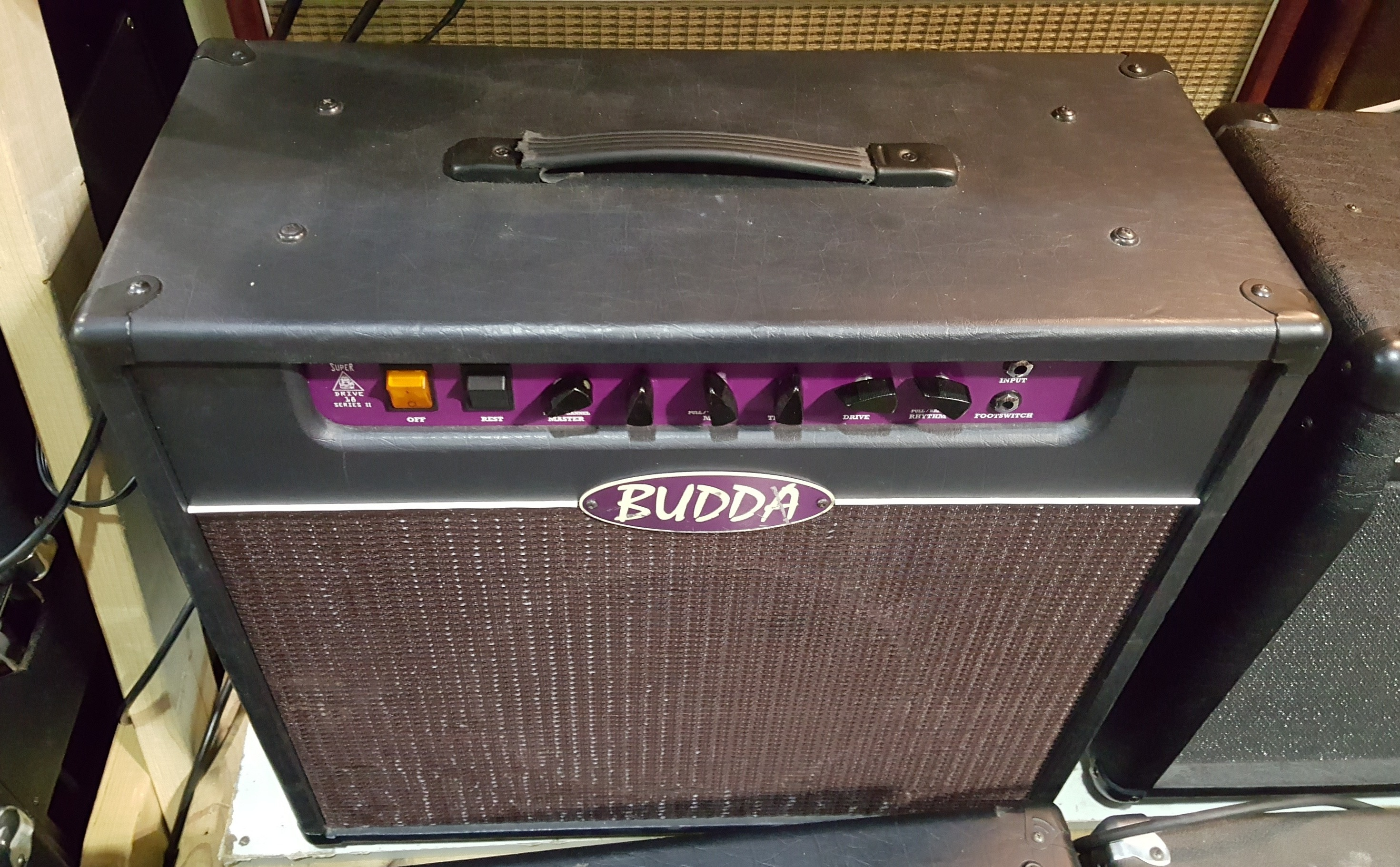 BUDDA SUPERDRIVE 18 SERIES II 1X12 GUITAR COMBO AMP