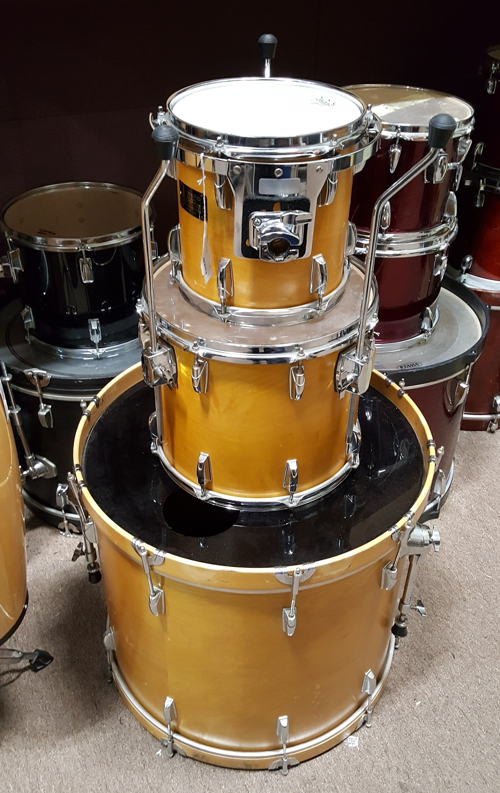 DONOHO CUSTOM MAPLE SERIES 3-PIECE DRUM KIT