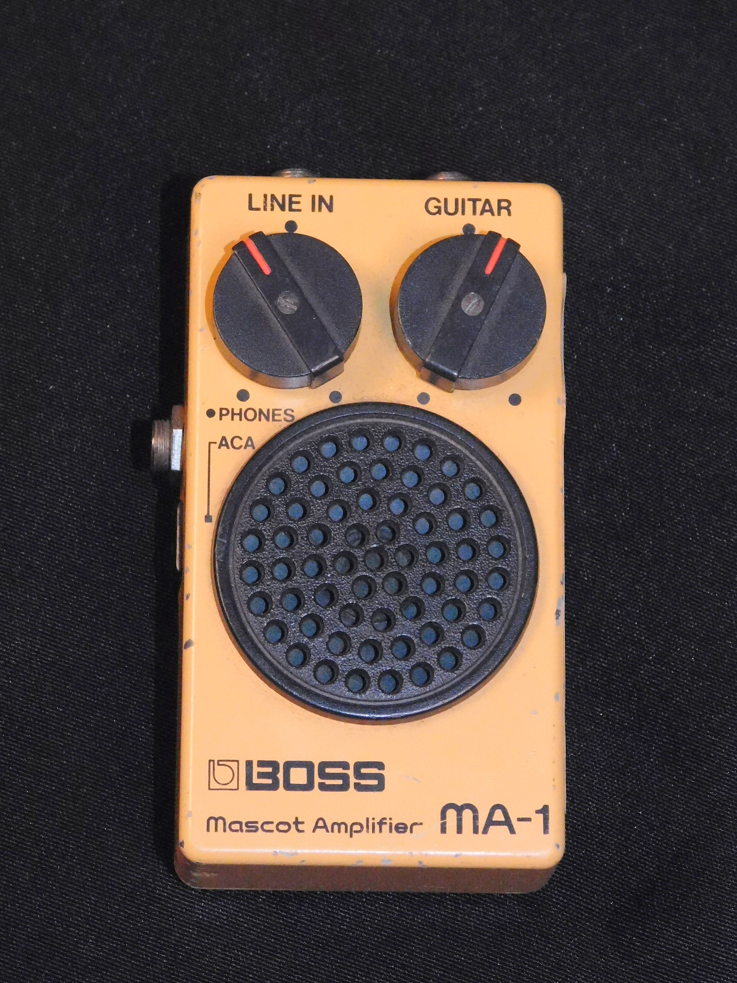 BOSS MA-1 MASCOT AMPLIFIER **VINTAGE** MA1 - PORTABLE AMP/HEADPHONE AMP TESTED