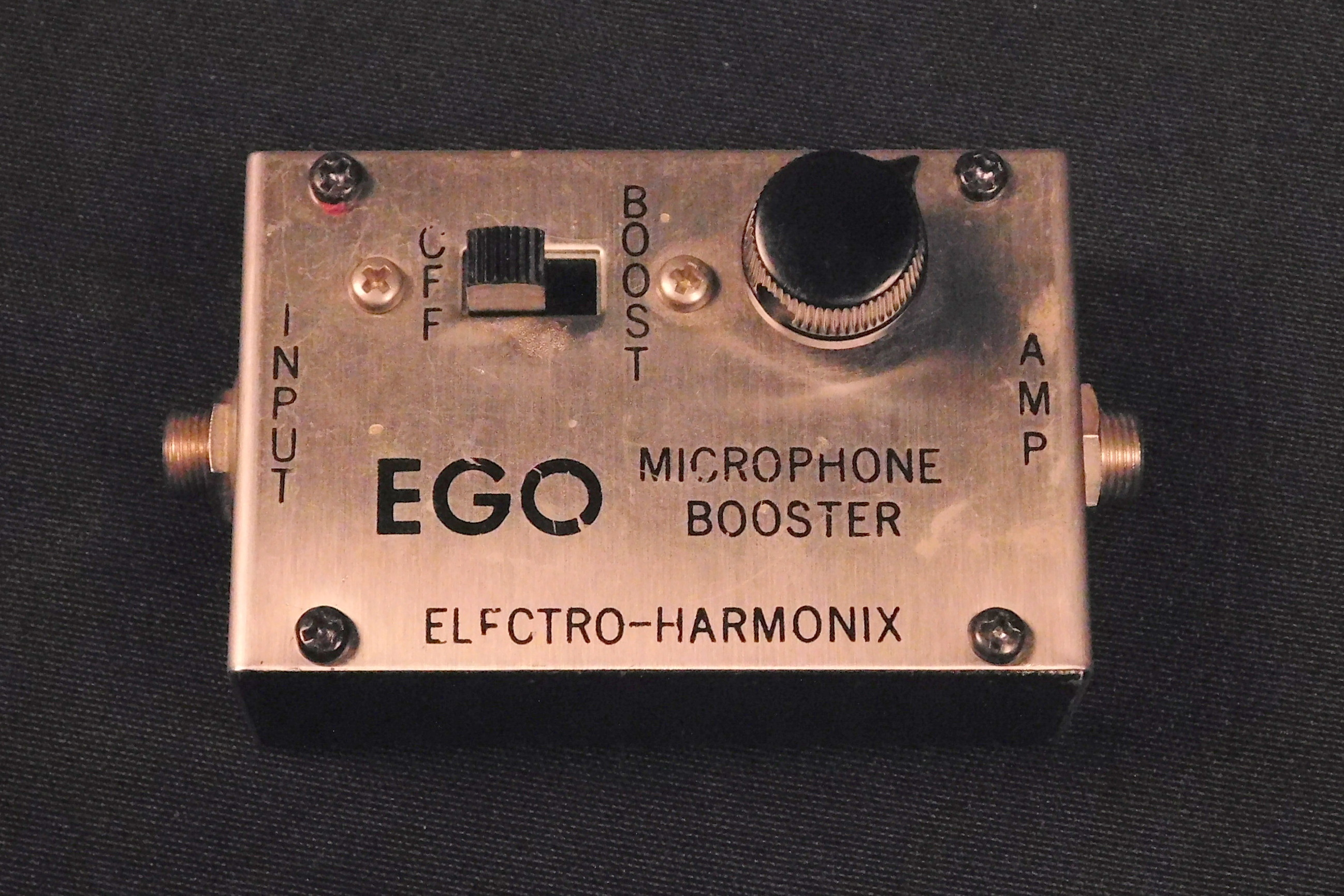 ELECTRO-HARMONIX EGO MICROPHONE BOOSTER **VINTAGE** TESTED!