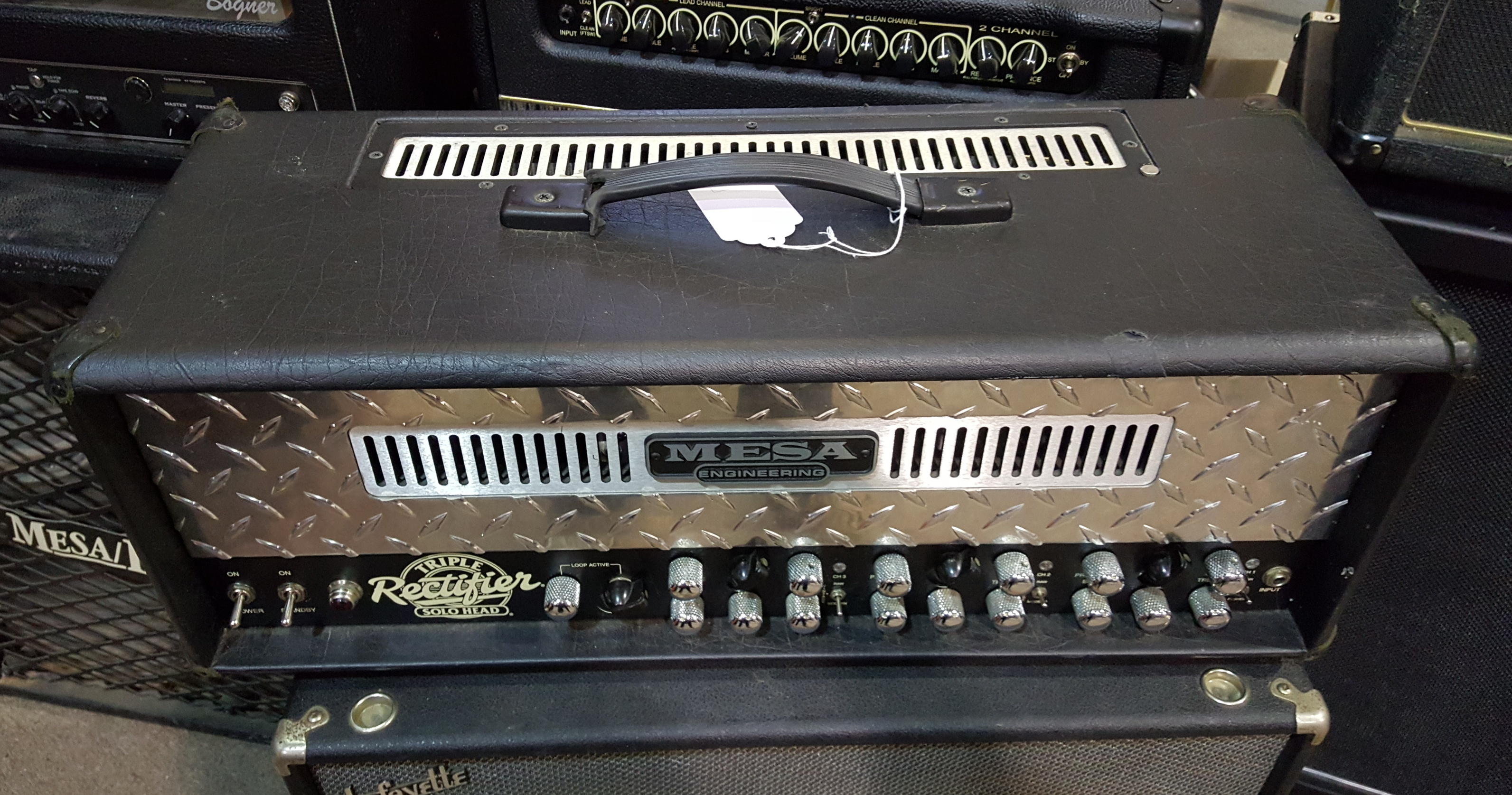 MESA BOOGIE TRIPLE RECTIFIER 150-WATT TUBE GUITAR AMP HEAD