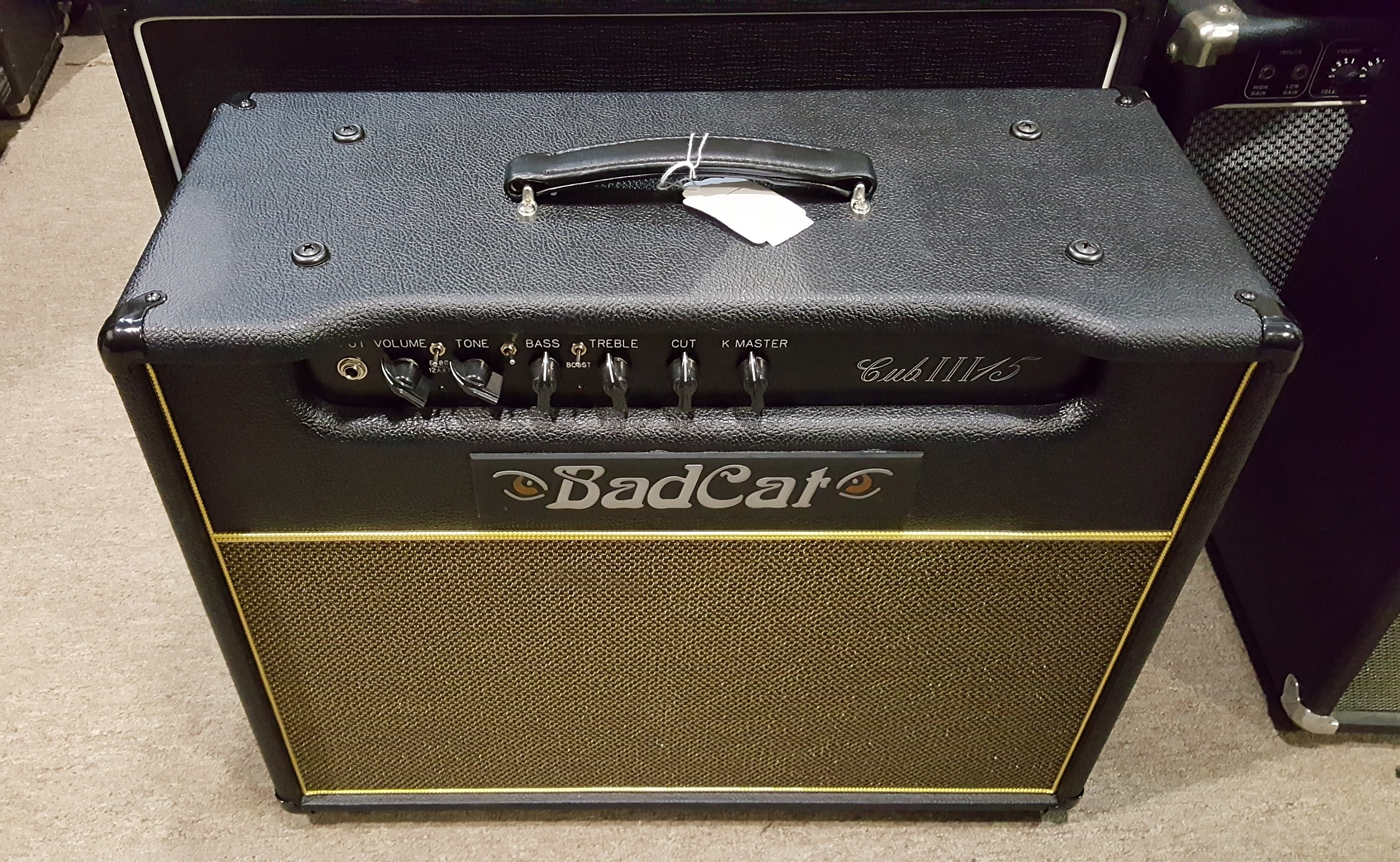BAD CAT CUB III 15 15-WATT HANDWIRED 1X12 TUBE GUITAR COMBO AMP