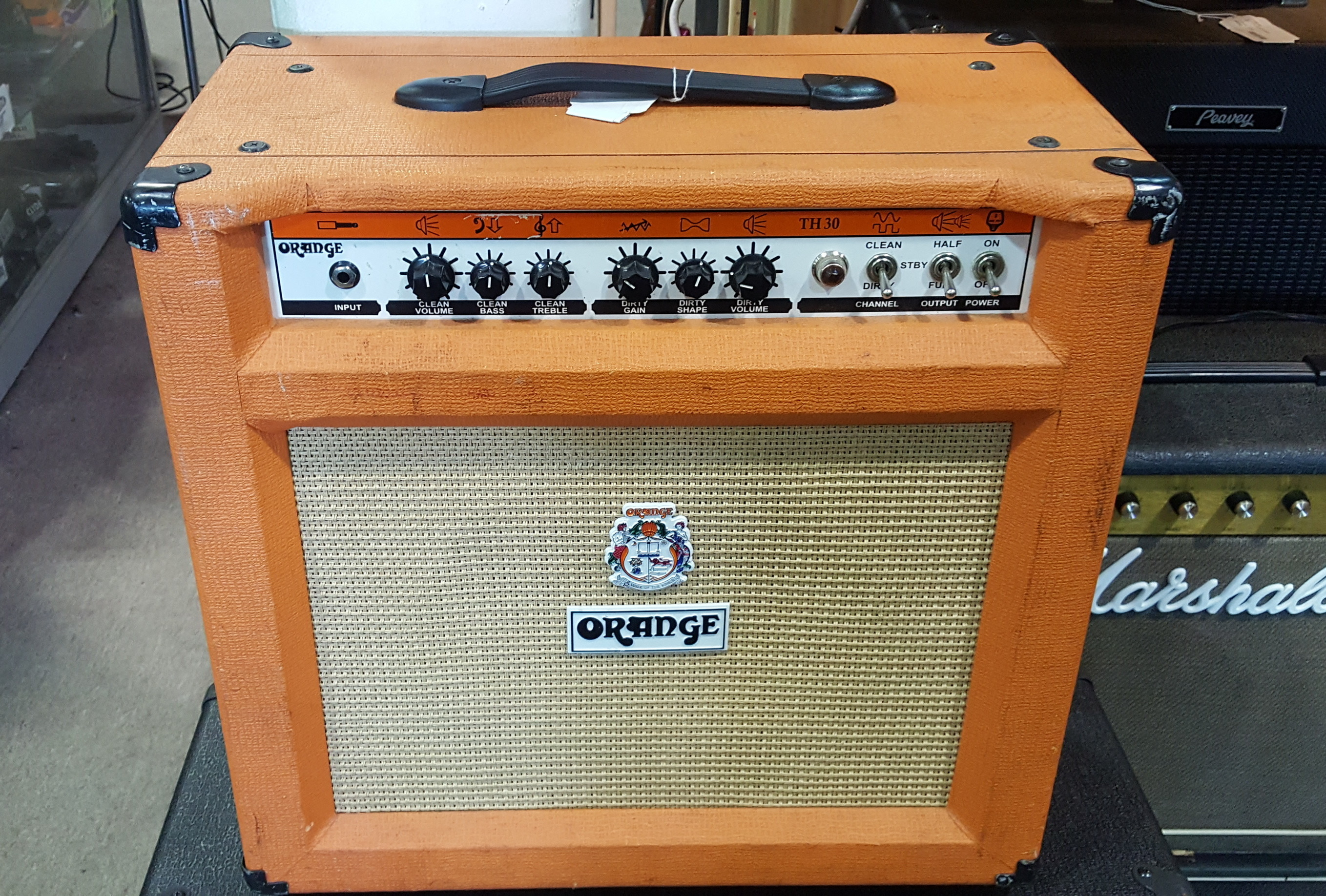ORANGE TH30C 30-WATT 1X12 TUBE GUITAR COMBO AMP