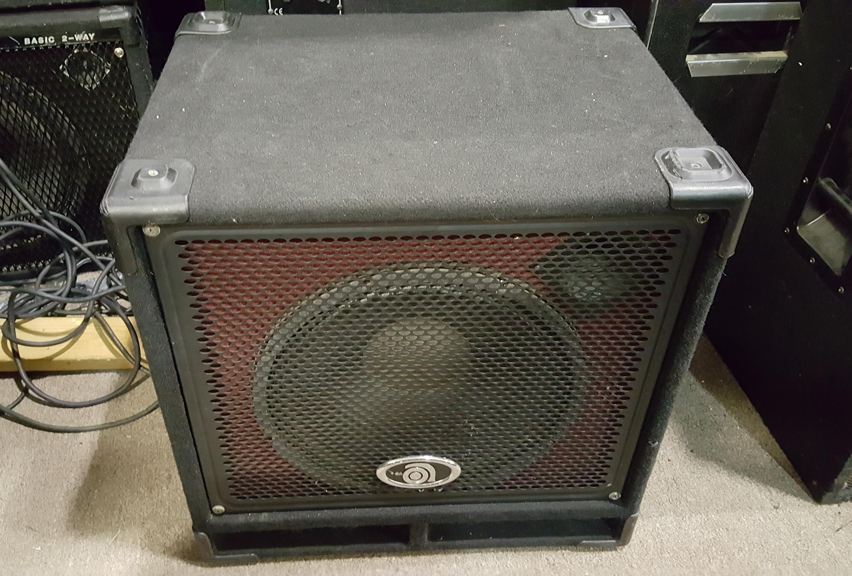 AMPEG BXT-115HL4 1X15 BASS SPEAKER CAB