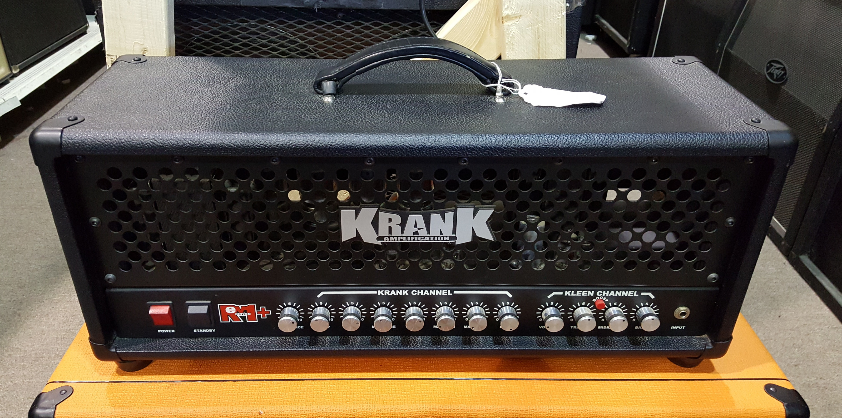 KRANK REV-1+ 100w Tube Guitar Amp Head - Made in USA !!