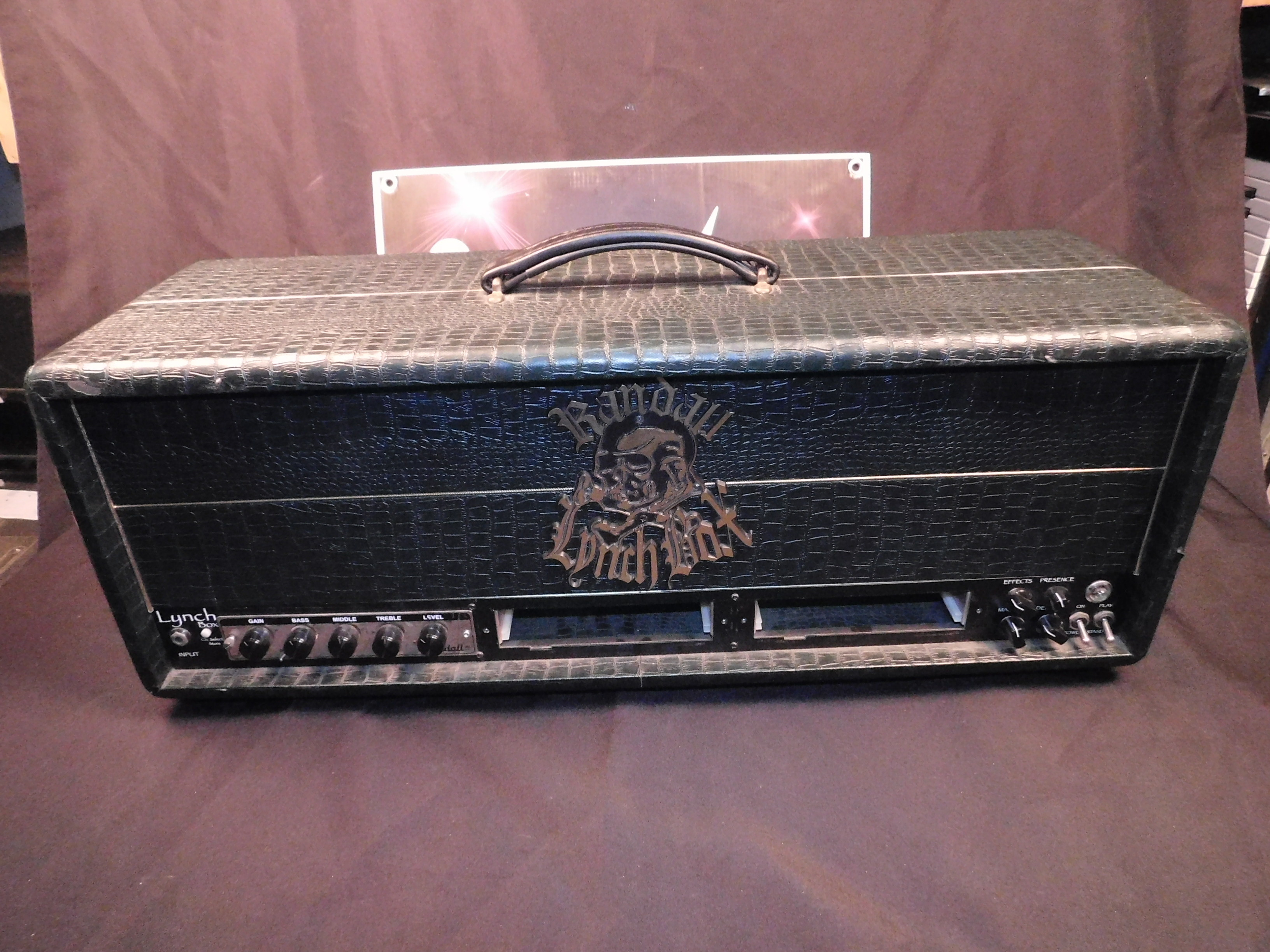 RANDALL LYNCH BOX GUITAR AMP HEAD WITH BRAND NEW TUBES