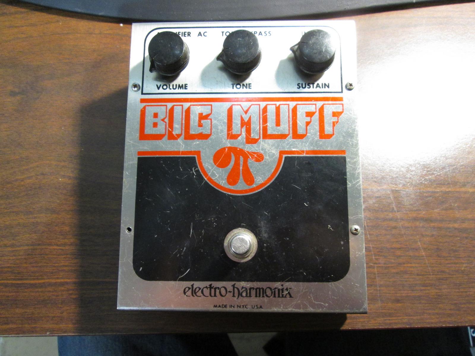 1979 ELECTRO-HARMONIX BIG MUFF PI V5
