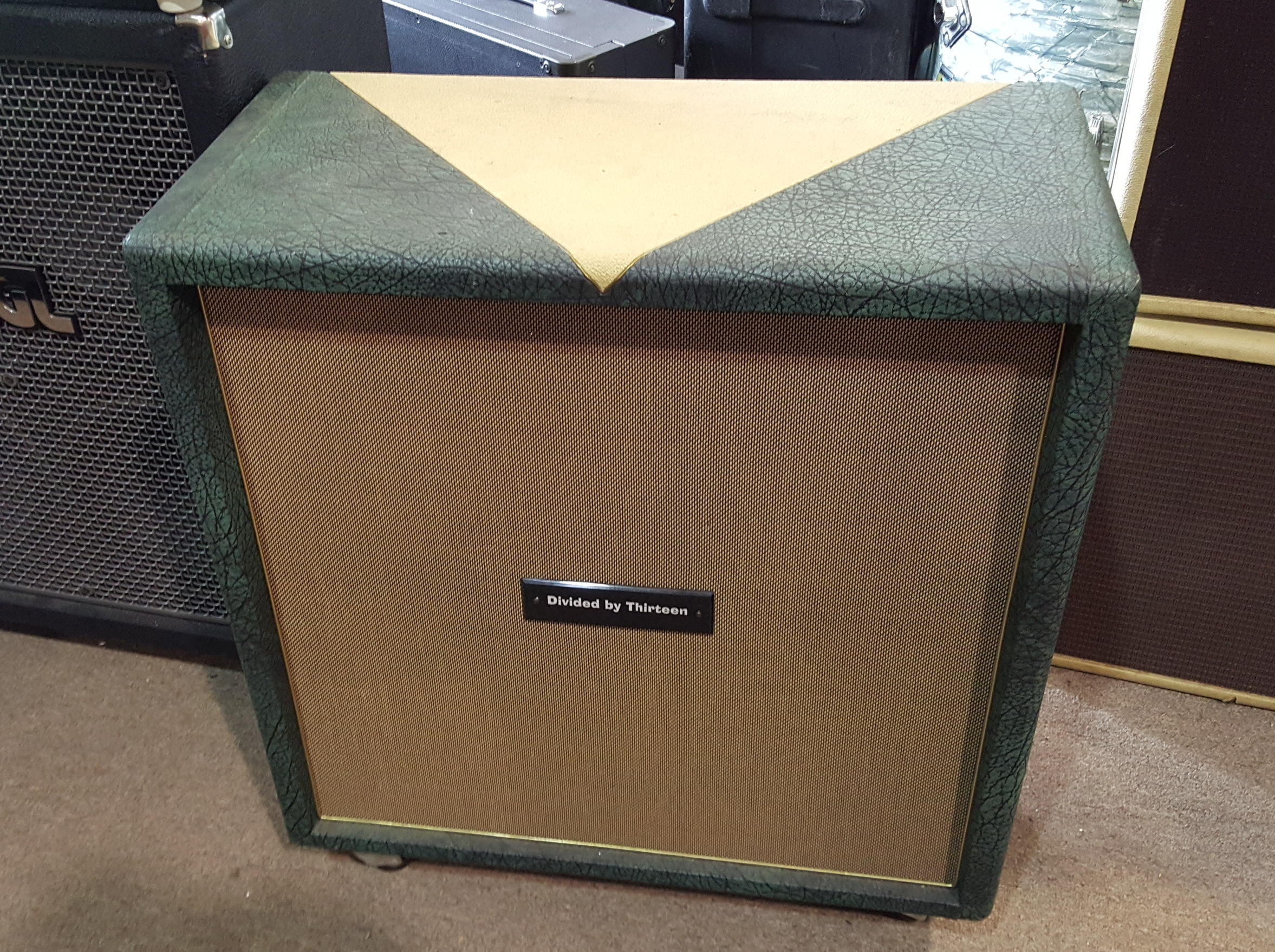 DIVIDED BY 13 4X12 SPEAKER CABINET W/ CELESTION G12H30S