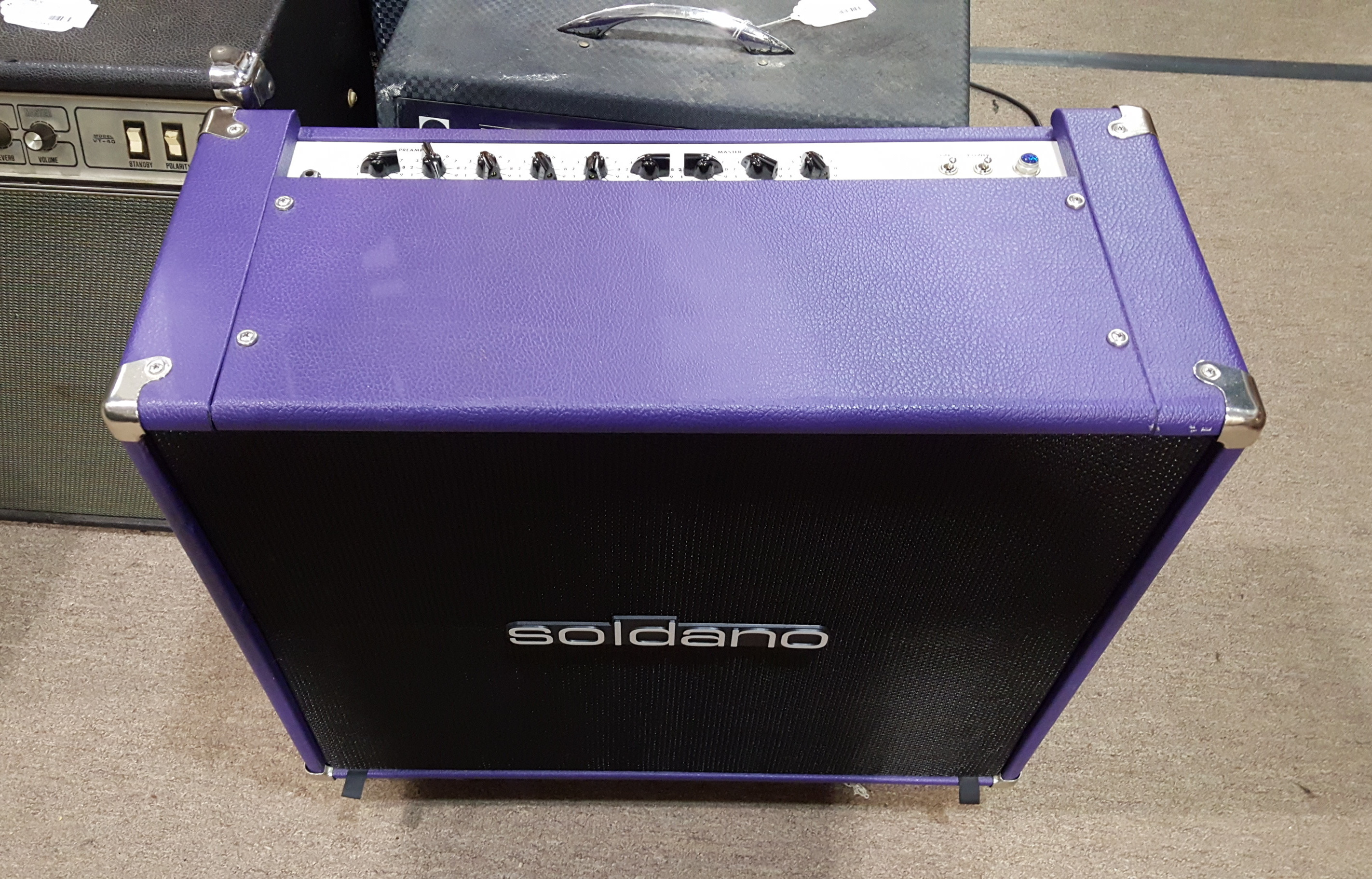 SOLDANO REVERB-O-SONIC 2X12 TUBE GUITAR AMP COMBO - Local Pickup Only!