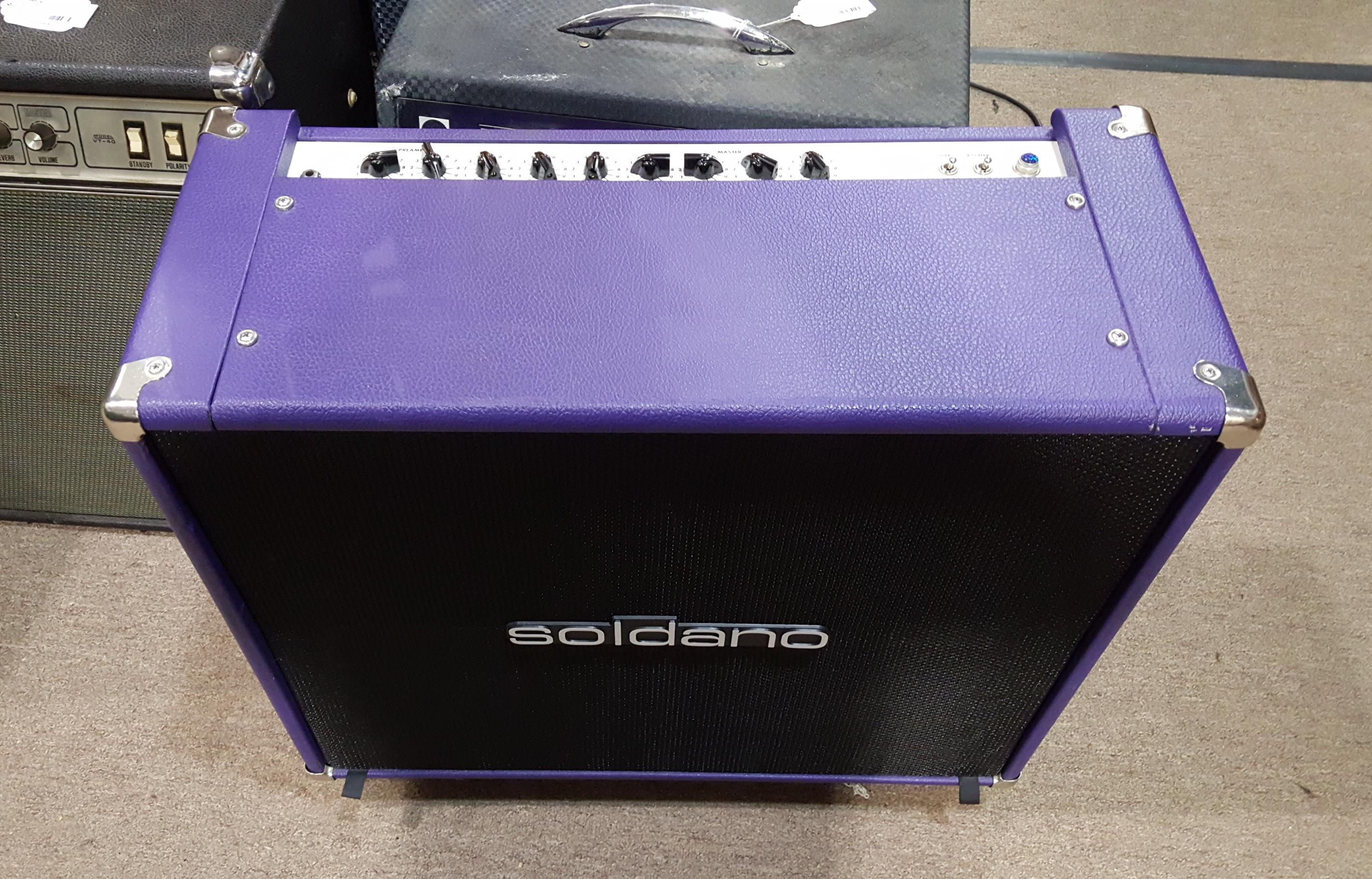 SOLDANO REVERB-O-SONIC 2X12 TUBE GUITAR AMP COMBO