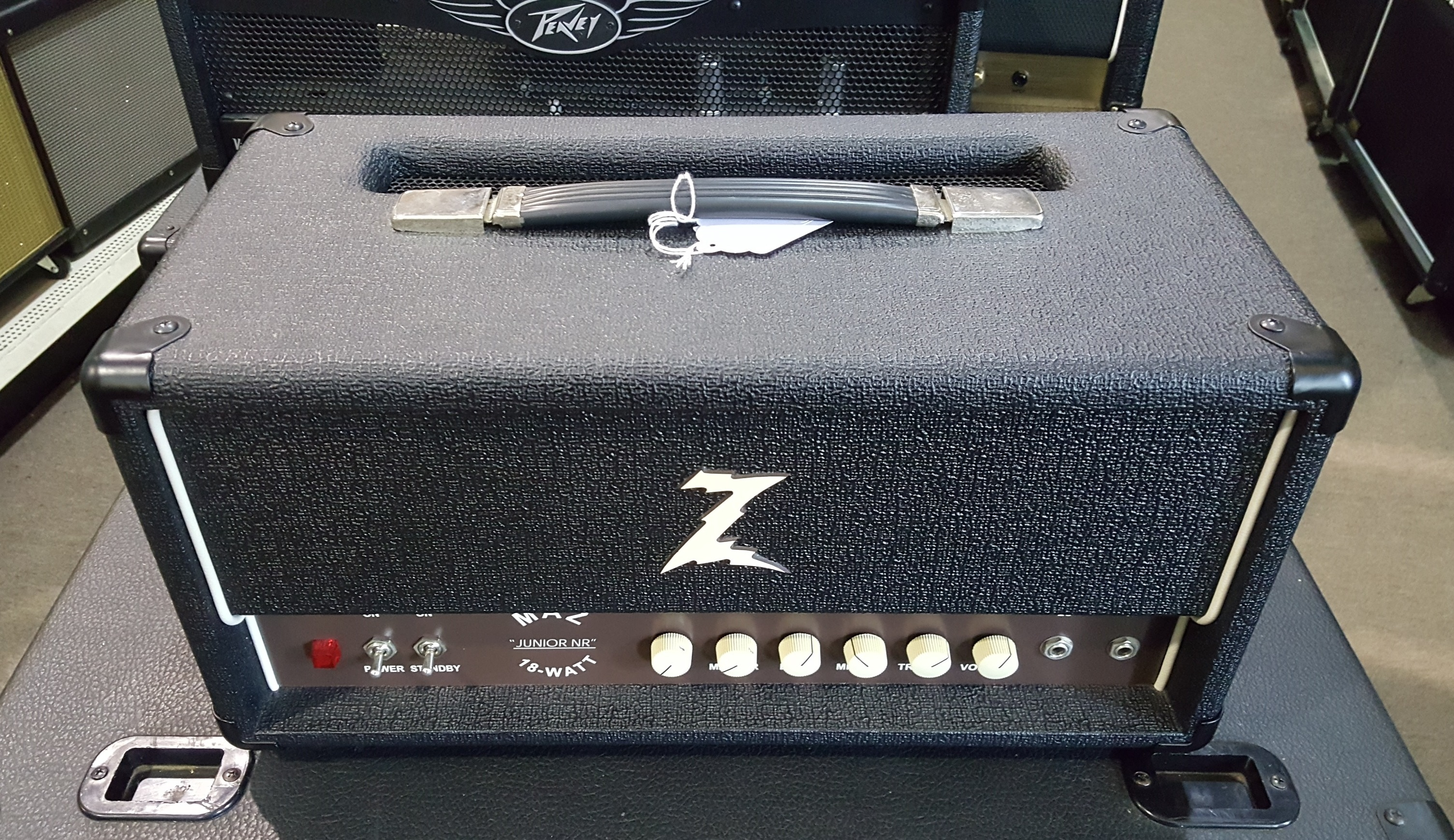 R. Z MAZ JUNIOR NR 18-WATT HANDWIRED TUBE GUITAR AMP HEAD