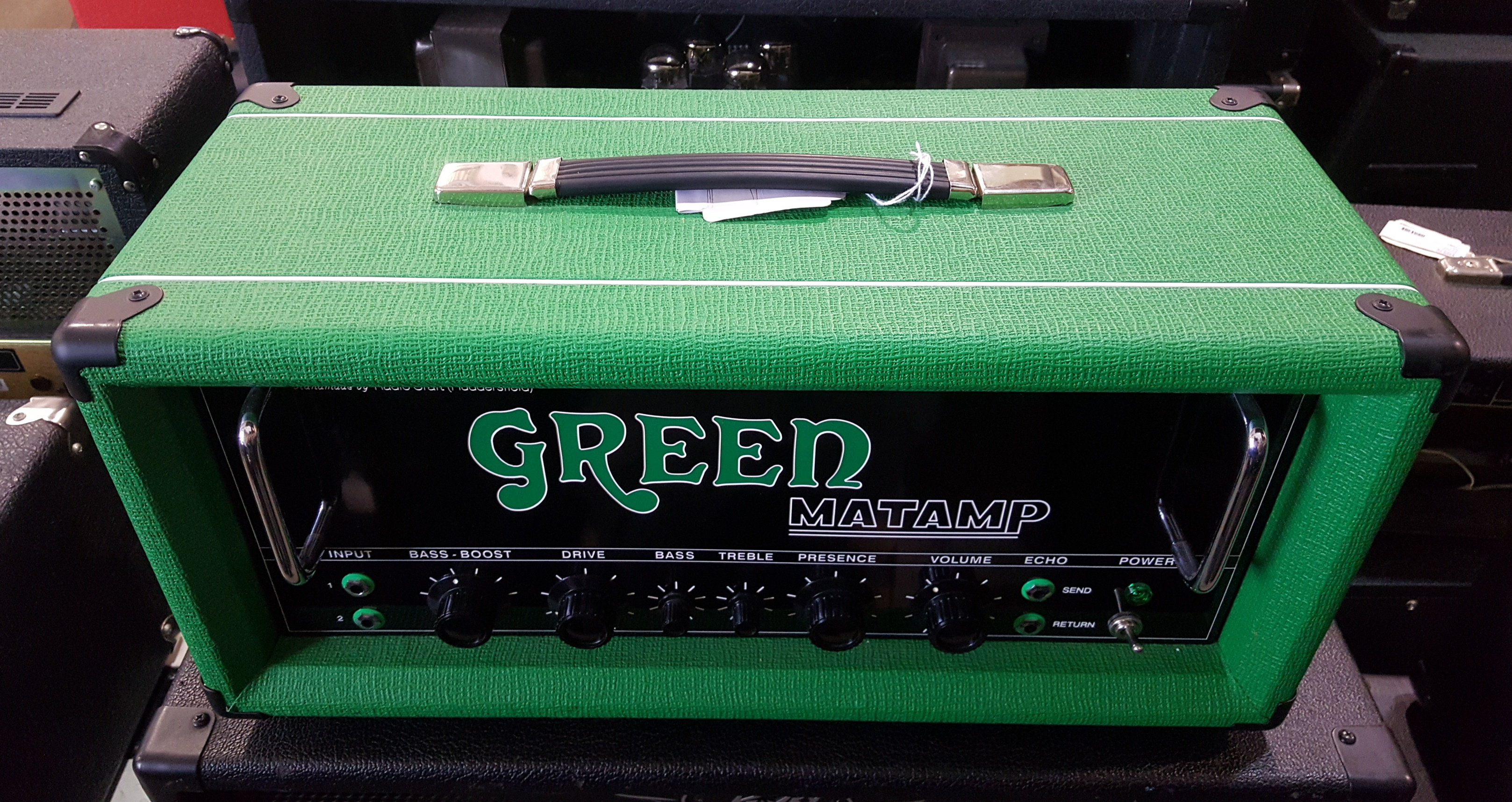 MATAMP GREEN GT120 Tube Guitar Amp Head **LOCAL PICKUP**