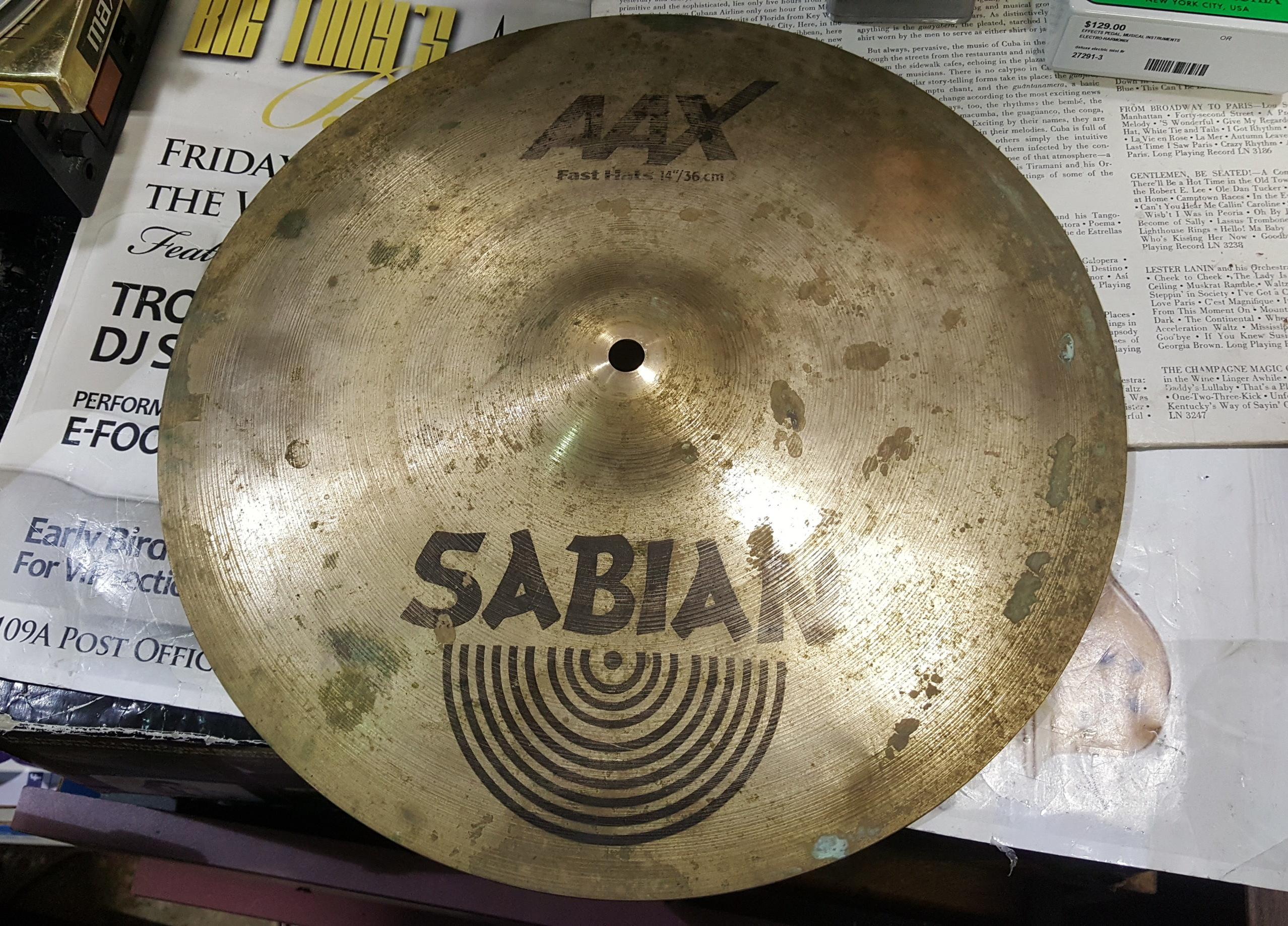 SABIAN AAX FAST HAT 14