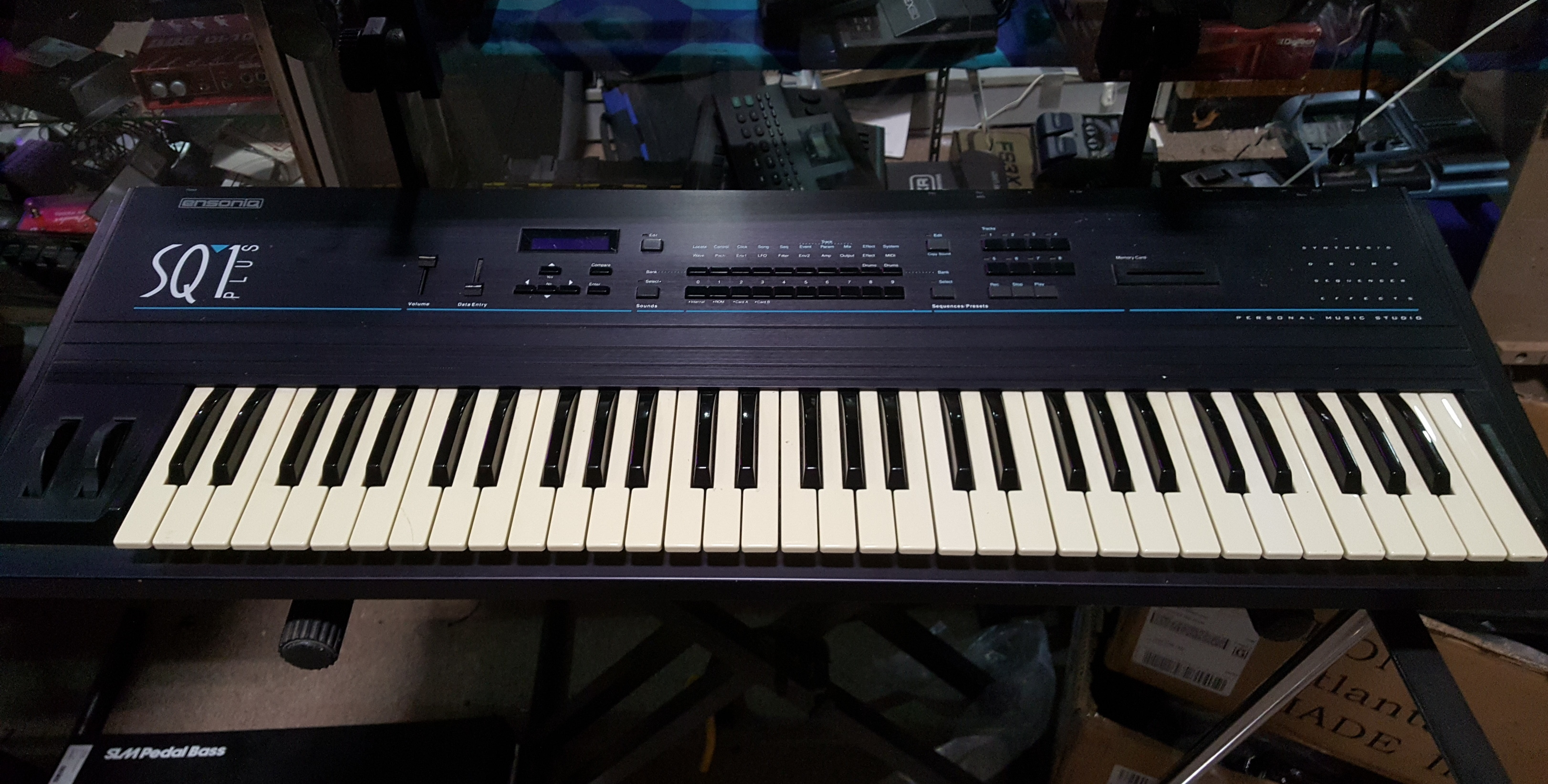 ENSONIQ SQ1 PLUS 61-Key Keyboard Synthesizer **LOCAL PICKUP**