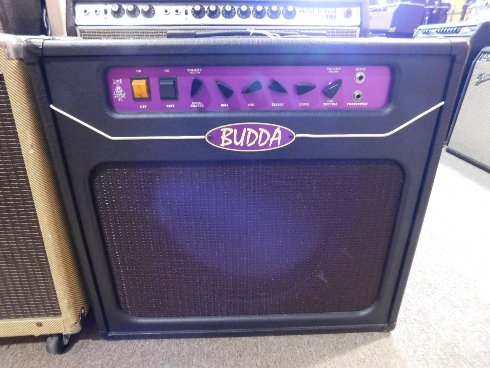 BUDDA SUPER DRIVE 30 112 GUITAR AMP COMBO - GOOD CONDITION!!!