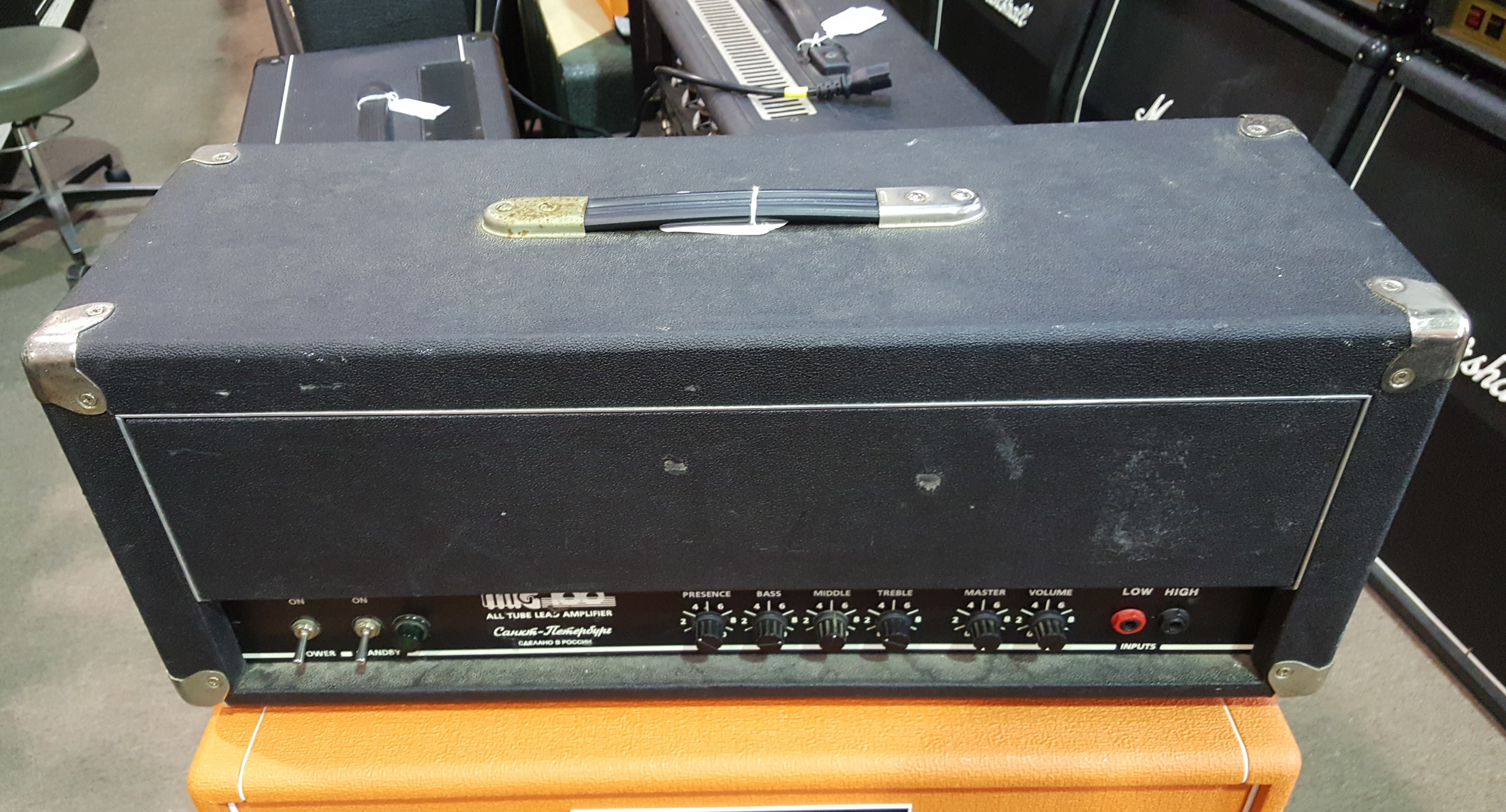 SOVTEK MIG100 100-Watt Tube Guitar Amp Head **PICKUP ONLY**