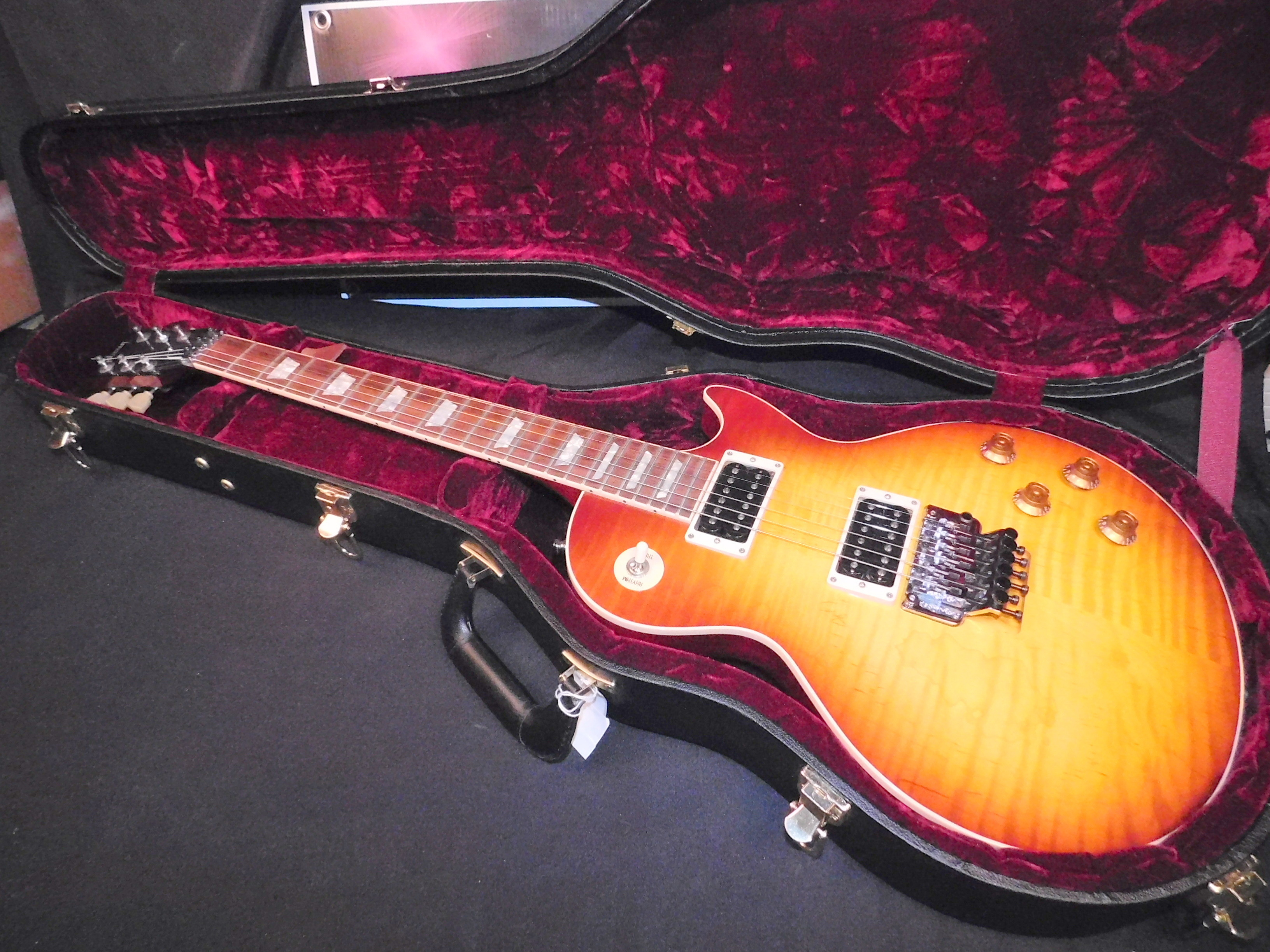 American GIBSON Custom LES PAUL AXCESS Floyd Rose LP w/CASE & COA