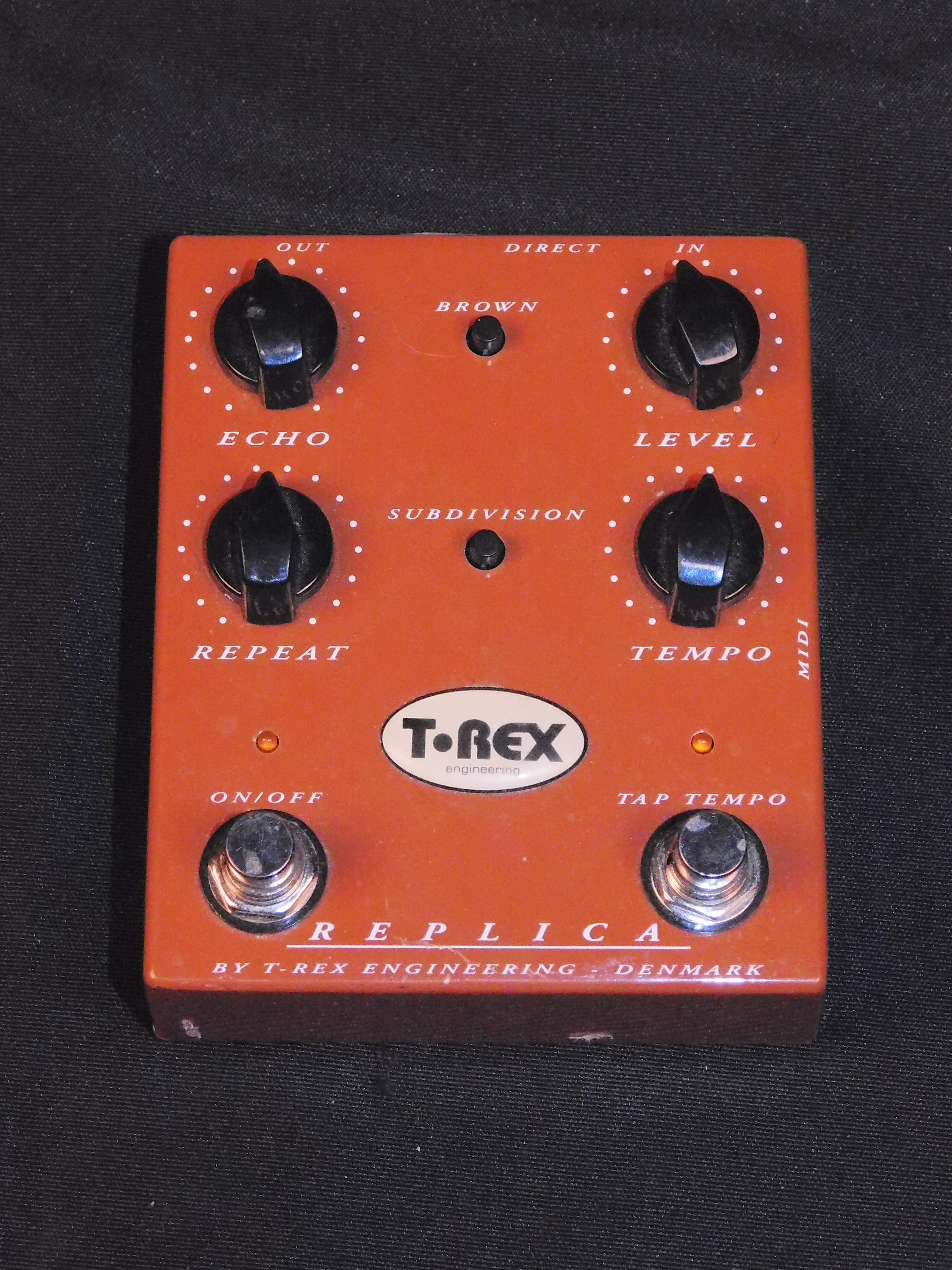 T-REX REPLICA TAP TEMPO DIGITAL DELAY EFFECTS FX PEDAL