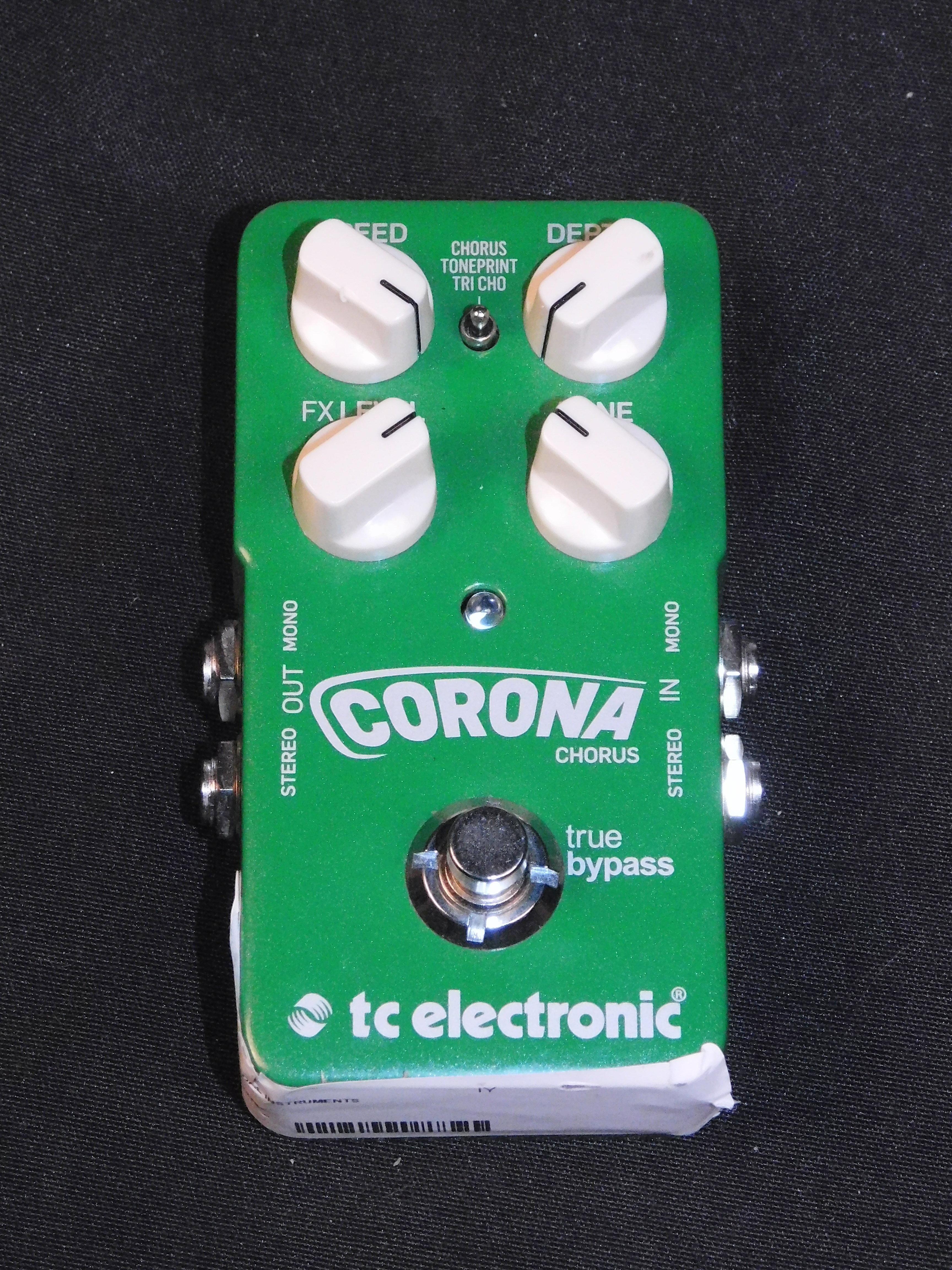 TC ELECTRONIC CORONA CHORUS EFFECTS PEDAL