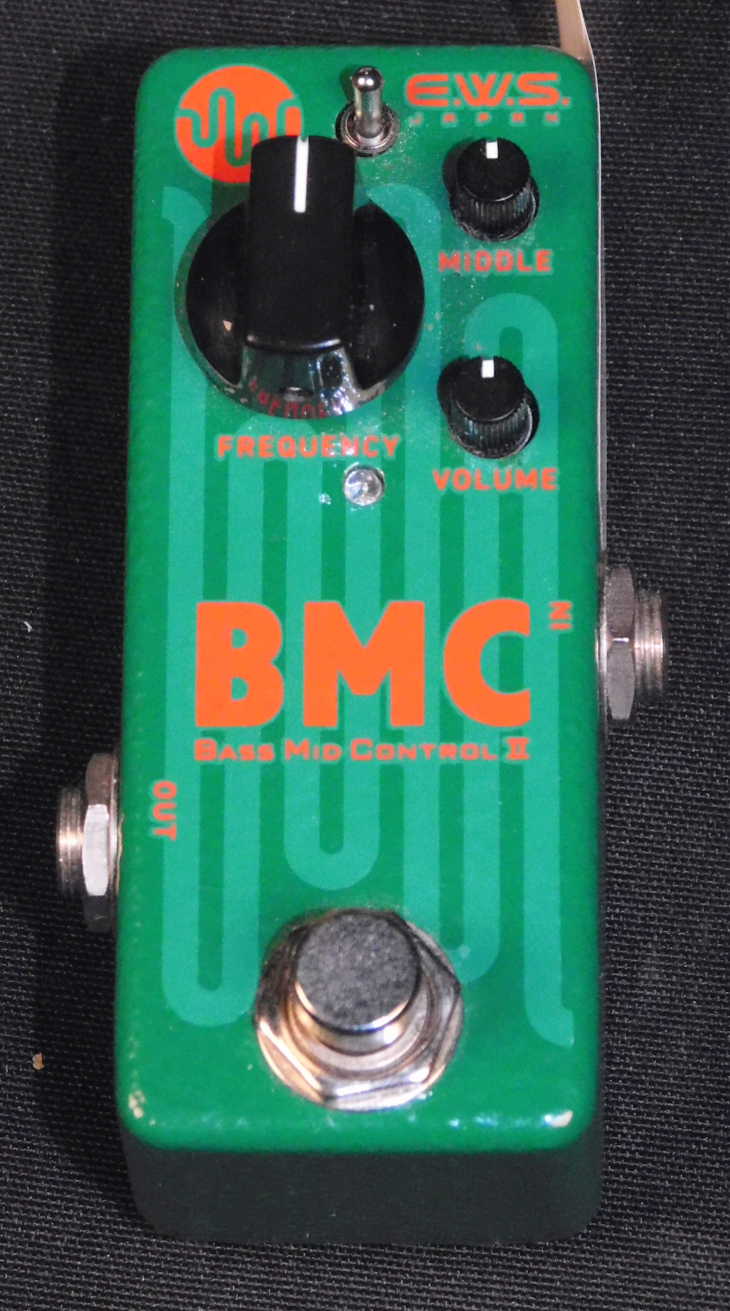 EWS BMC II Mass Mid Control 2 FX Pedal
