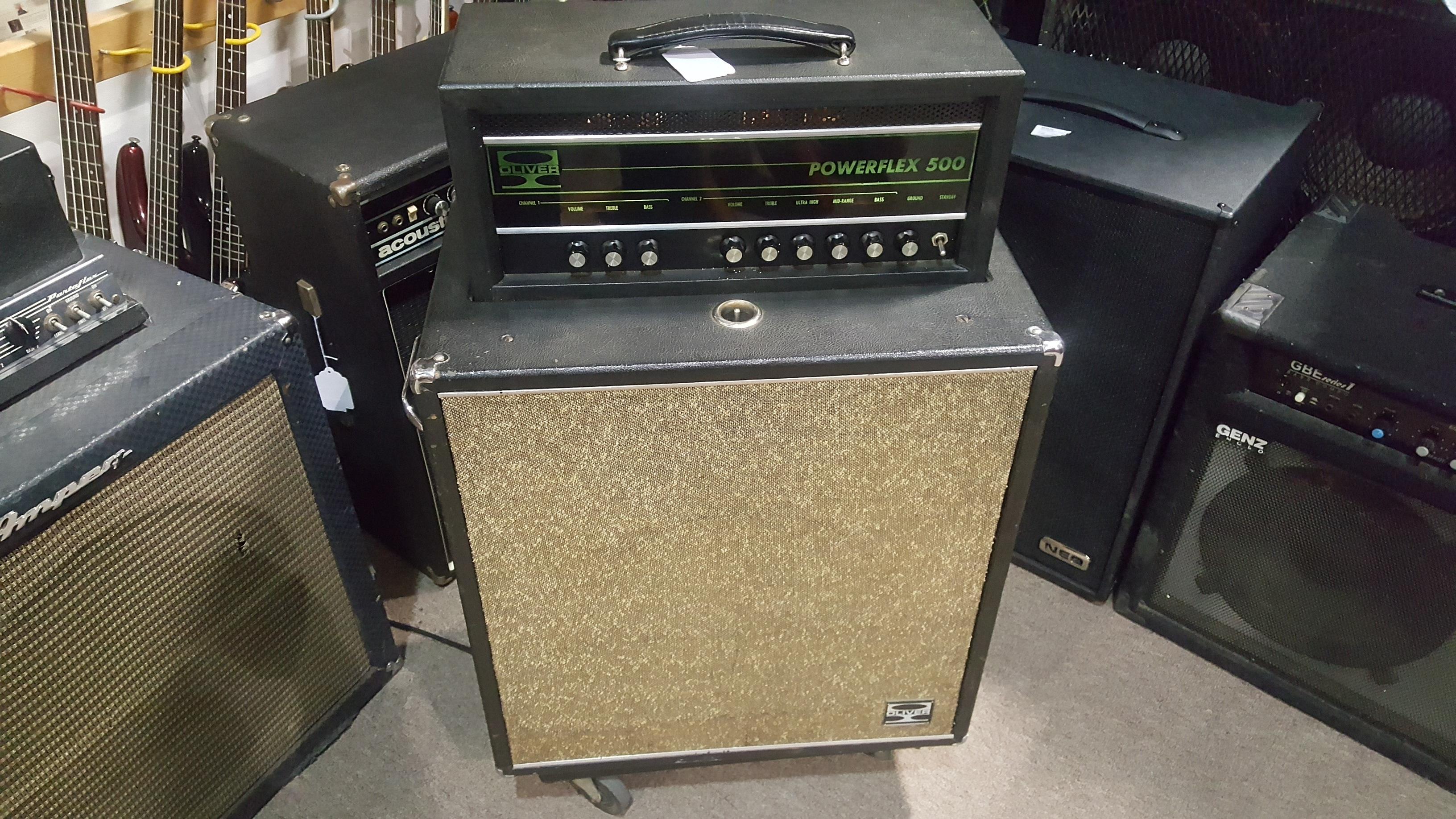 OLIVER POWERFLEX 500 MODEL P500 60-Watt Tube Bass Combo Amp **PICKUP ONLY**