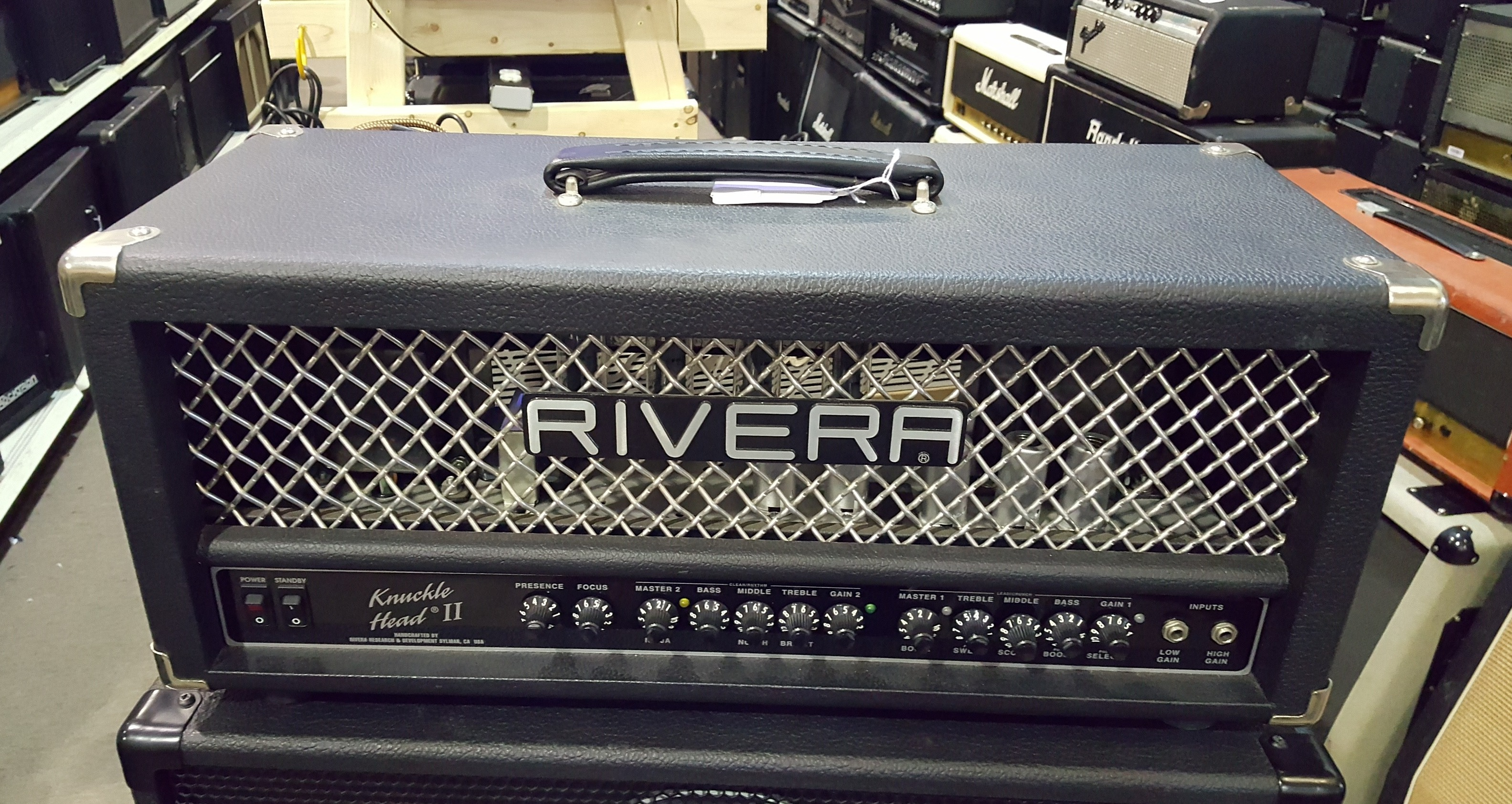 RIVERA KNUCKLE HEAD II Tube Guitar Amp Head KNUCKLEHEAD II **PICKUP ONLY**