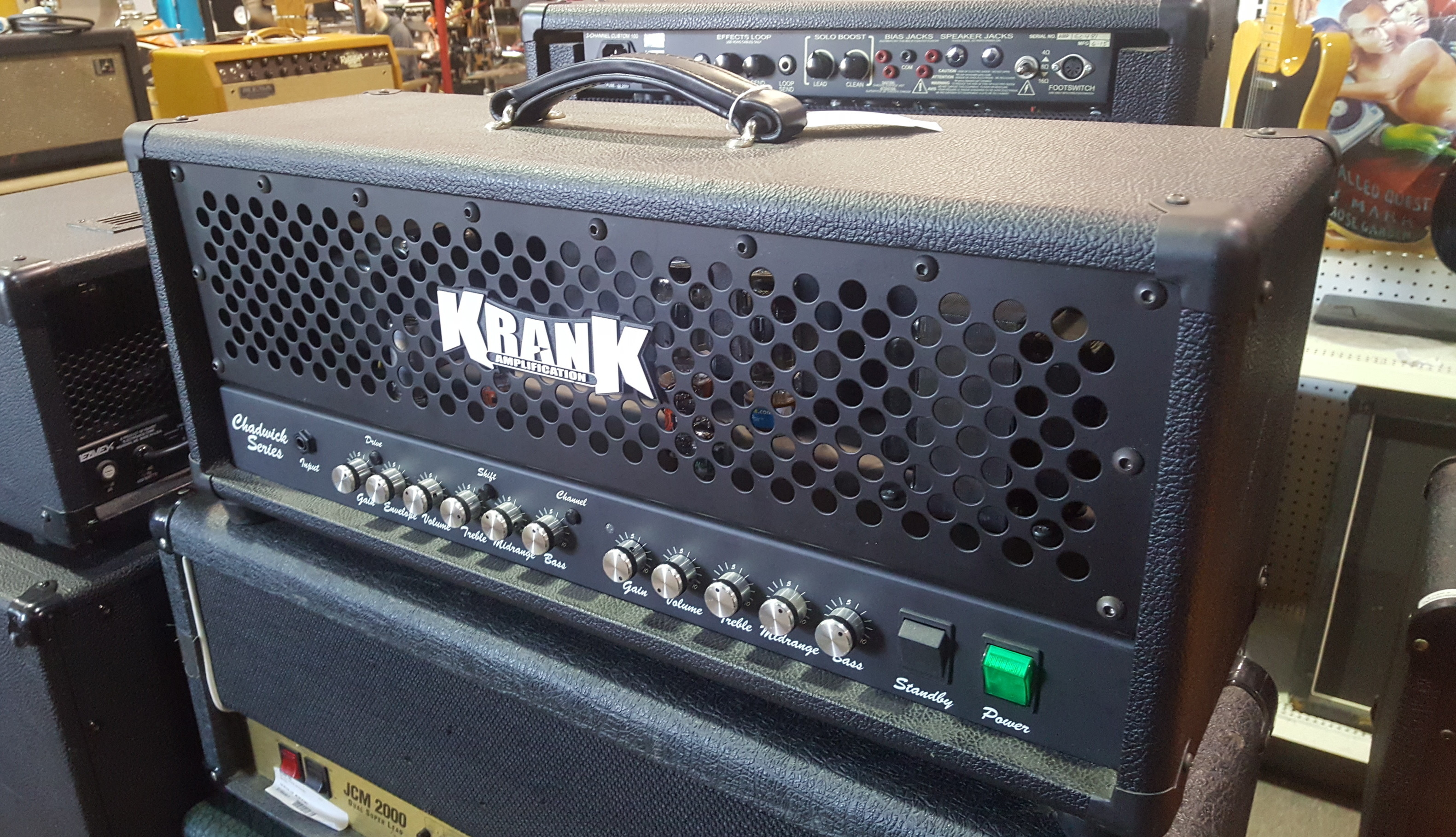 KRANK CHADWICK SERIES 2-Channel 50-Watt Tube Guitar Amp Head **PICKUP ONLY**
