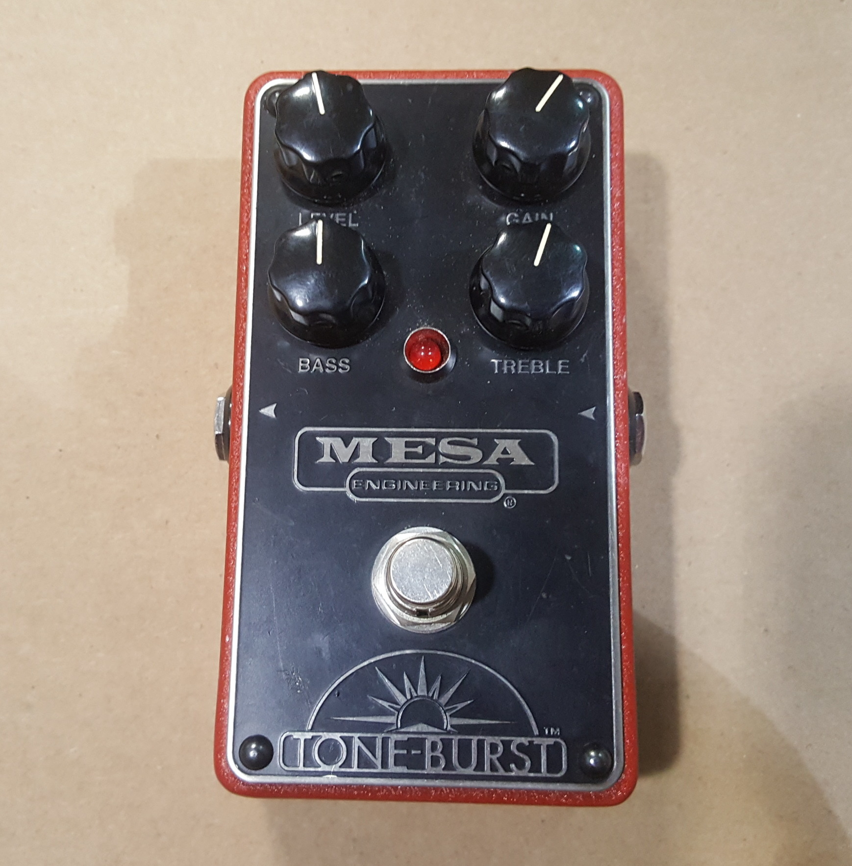MESA BOOGIE TONE-BURST Clean Boost/Overdrive Guitar Effects FX Pedal