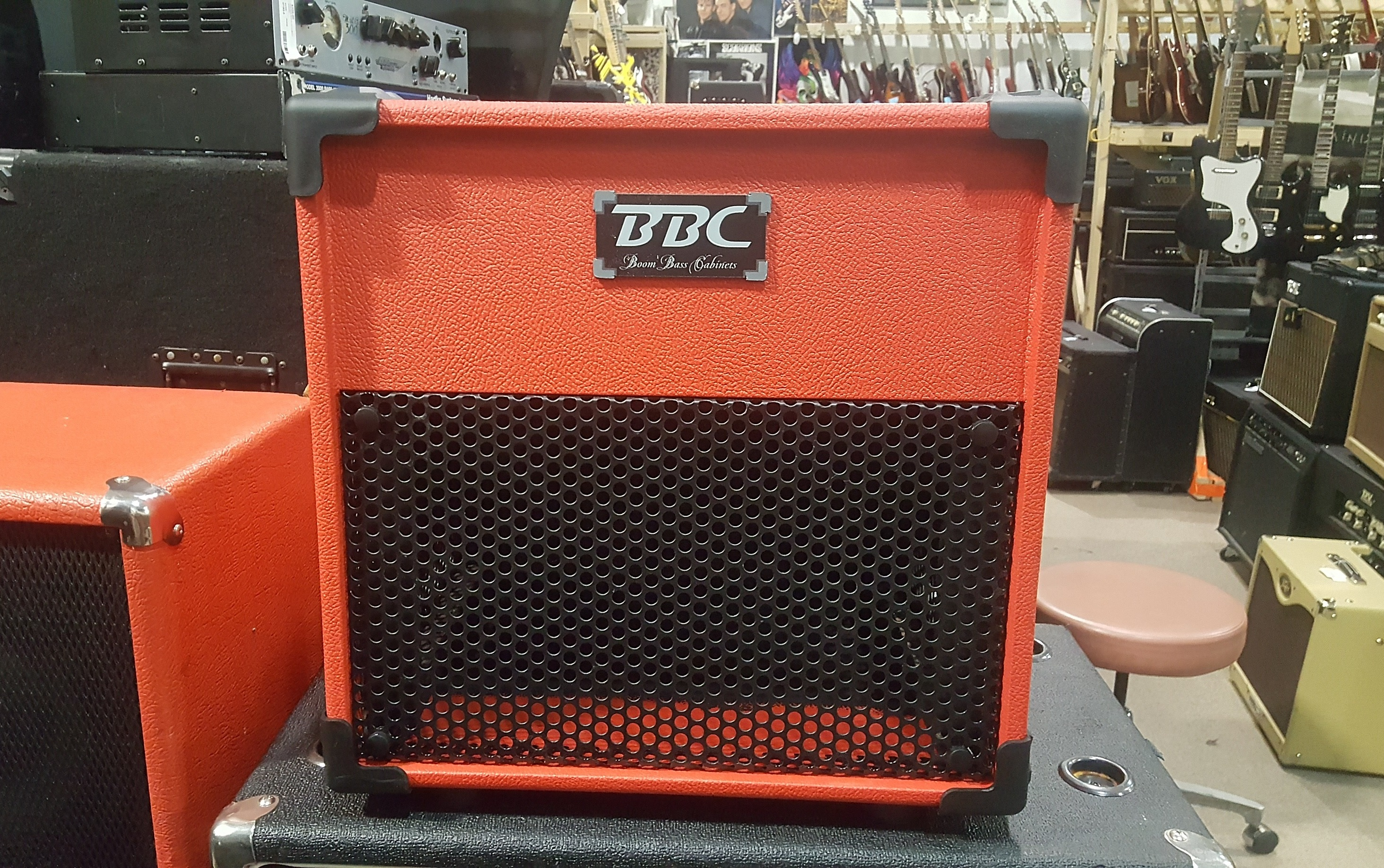 BOOM BASS CABINETS BBC 112 600-Watt 1x12 Bass Speaker Cabinet **PICKUP ONLY**