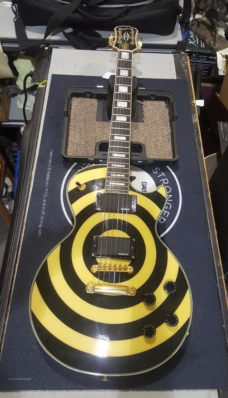 EPIPHONE ZAKK WYLDE LES PAUL CUSTOM BULLSEYE Electric Guitar