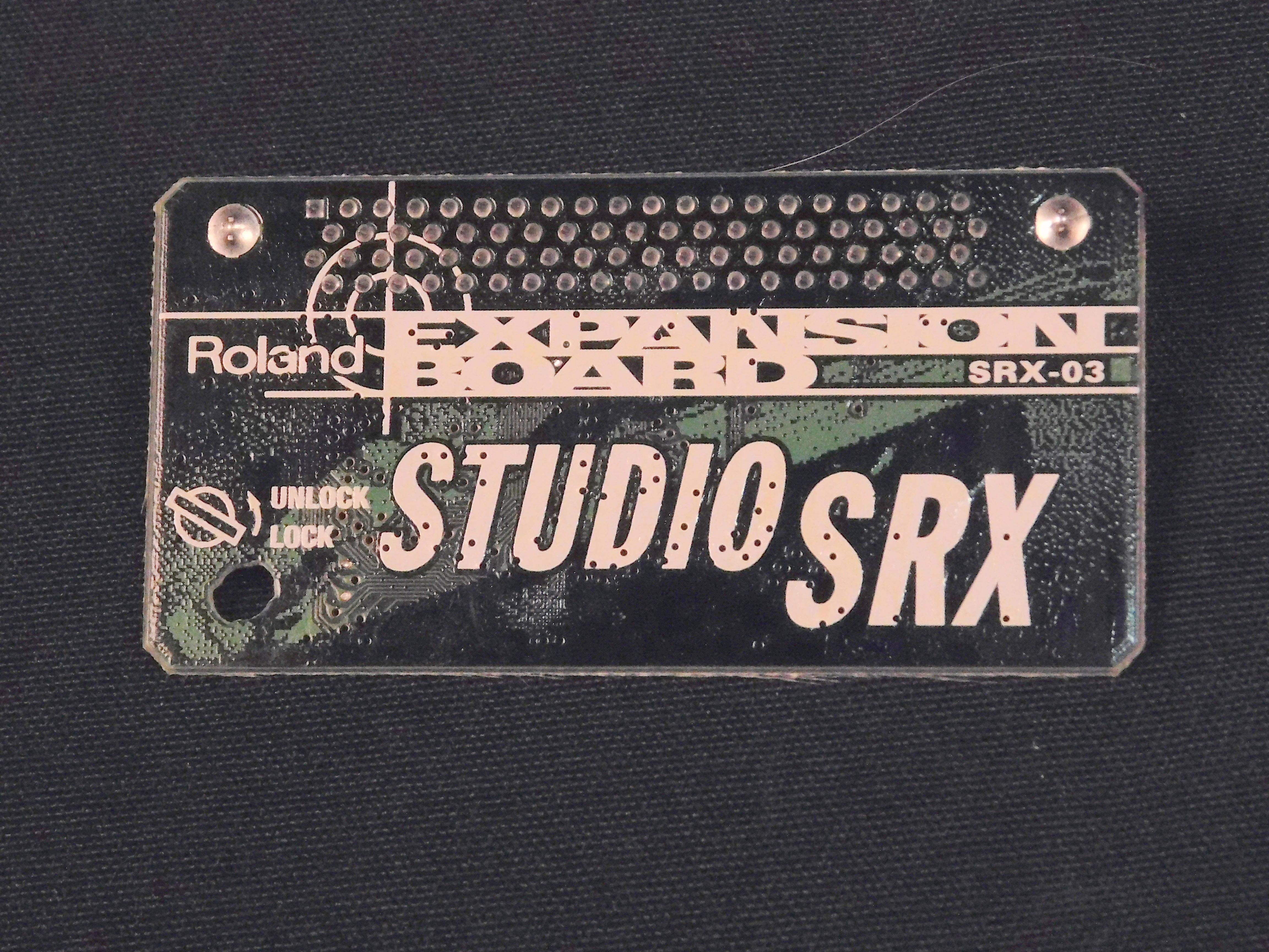 ROLAND SRX-03 STUDIO EXPANSION CARD