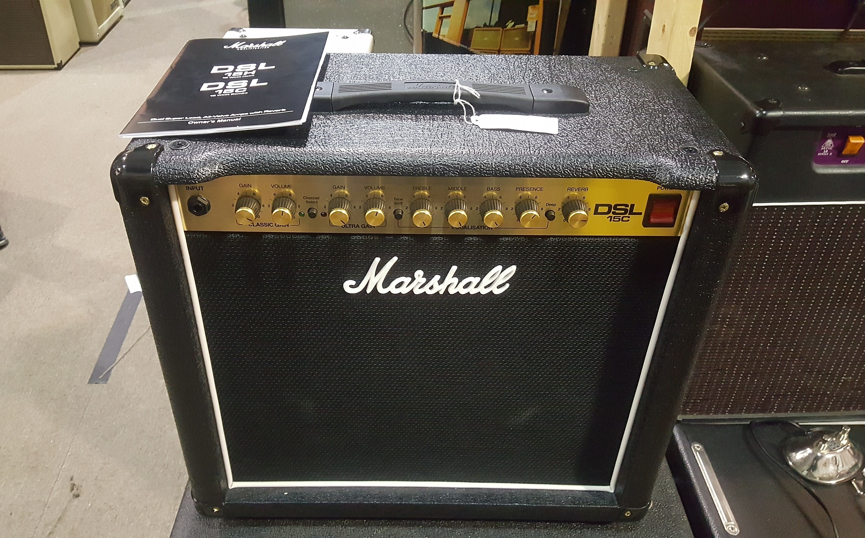 MARSHALL DSL15C 15W 1x12 Tube Guitar Amp Combo **PICKUP ONLY**