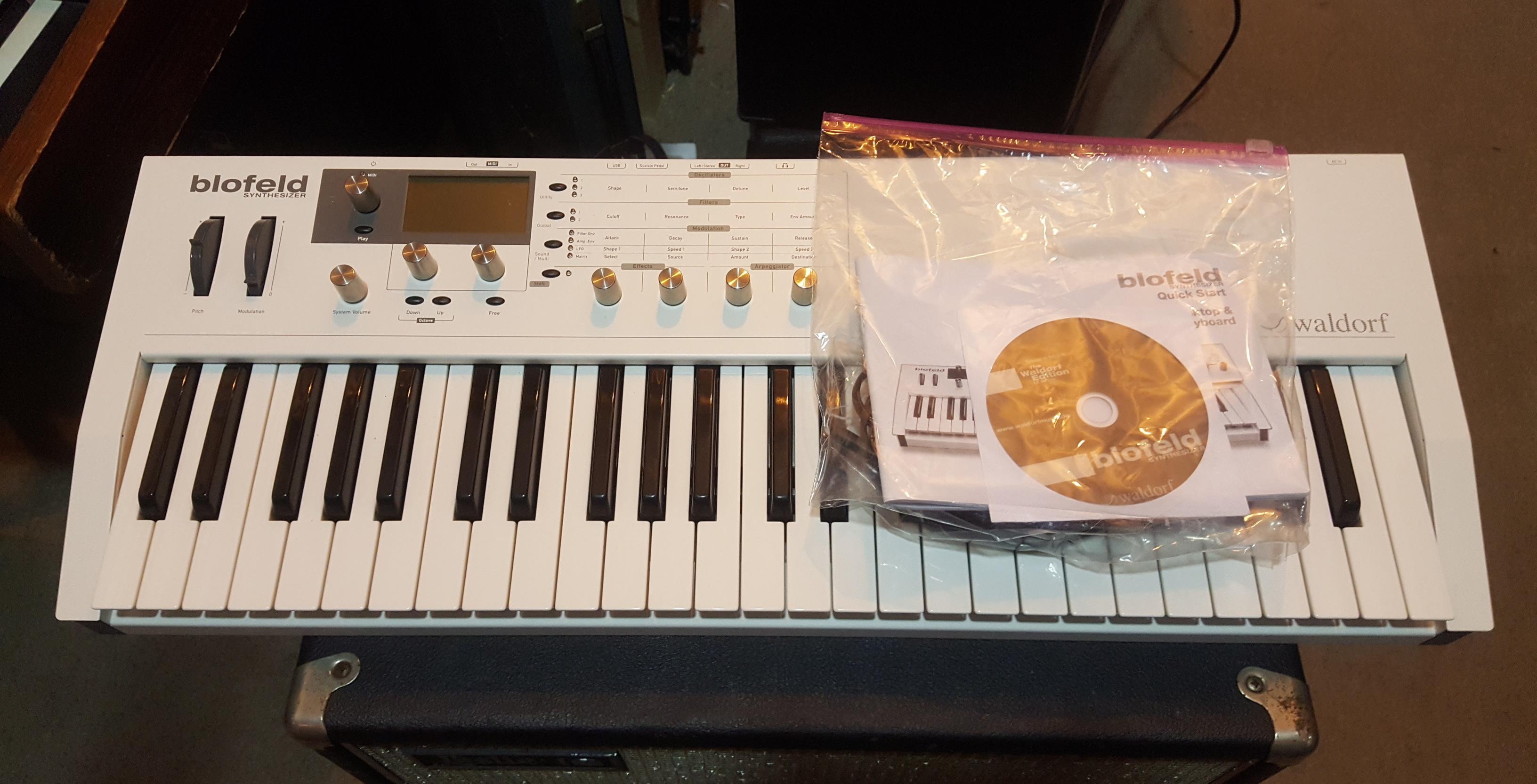 WALDORF BLOFELD 49-Key Digital Synthesizer Keyboard
