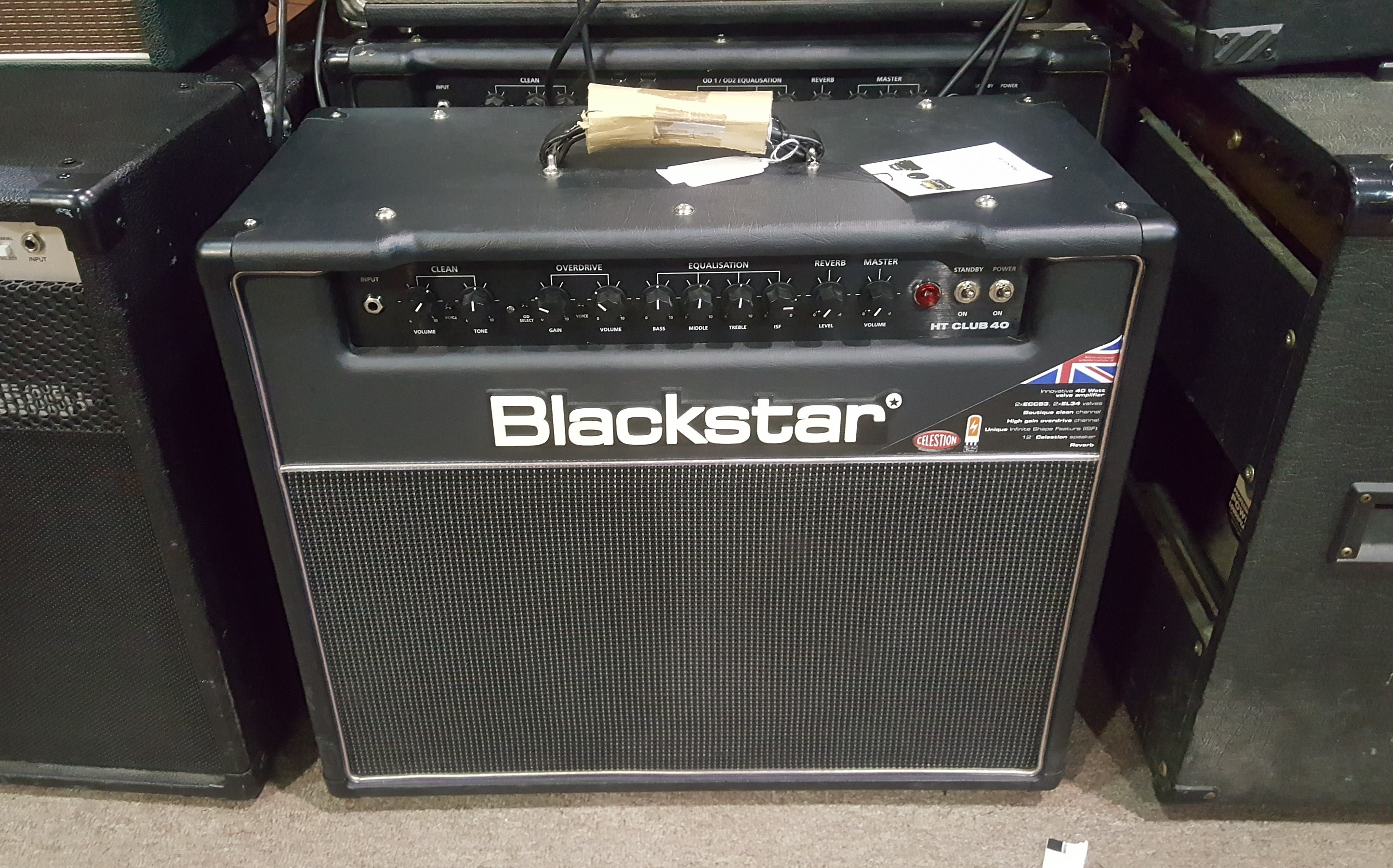 BLACKSTAR HT CLUB 40 - 40W 1x12 Tube Guitar Combo Amp **PICKUP ONLY**