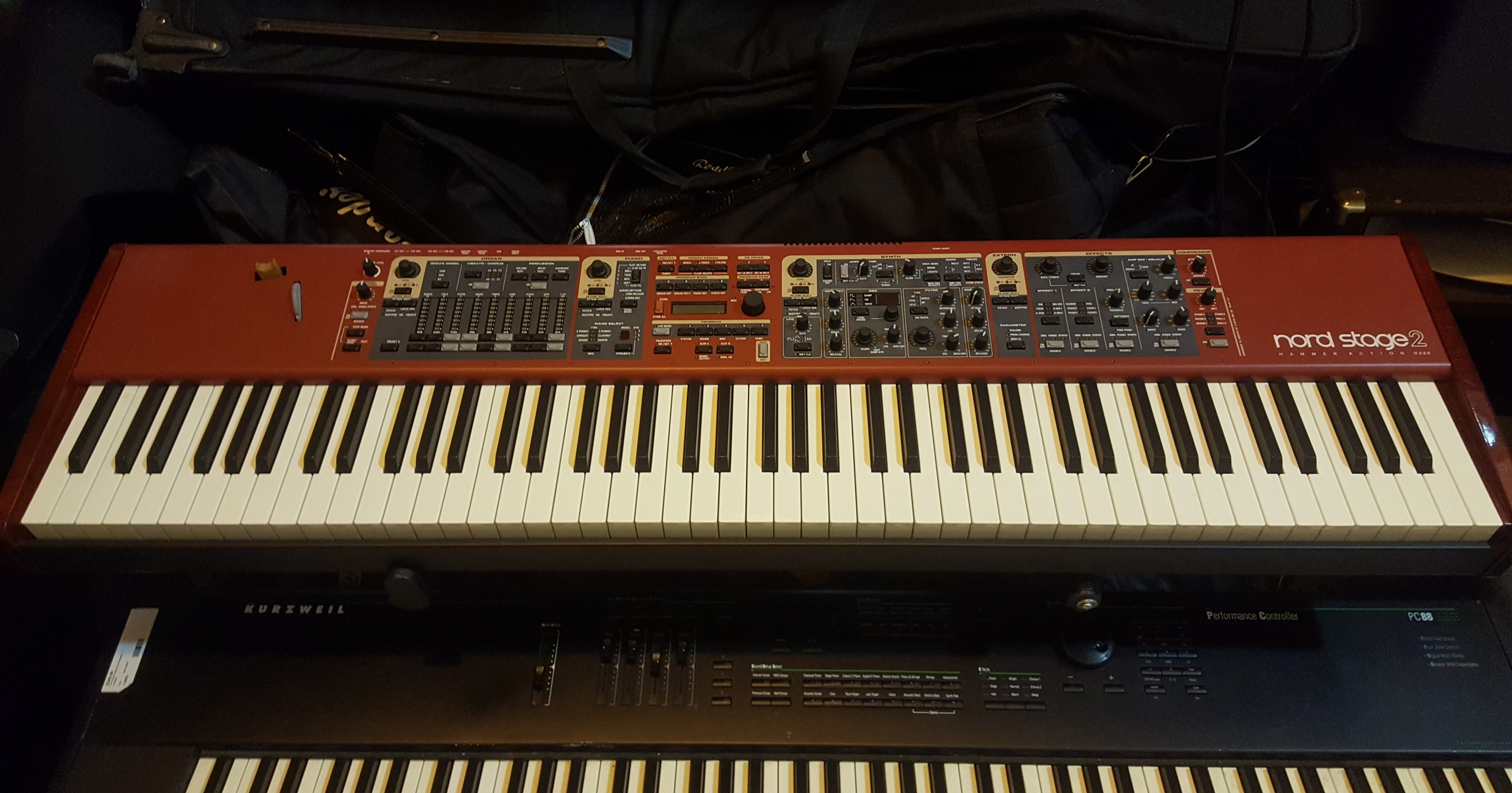 NORD STAGE 2 HA88 88-Key Hammer Action Keyboard **PICKUP ONLY**