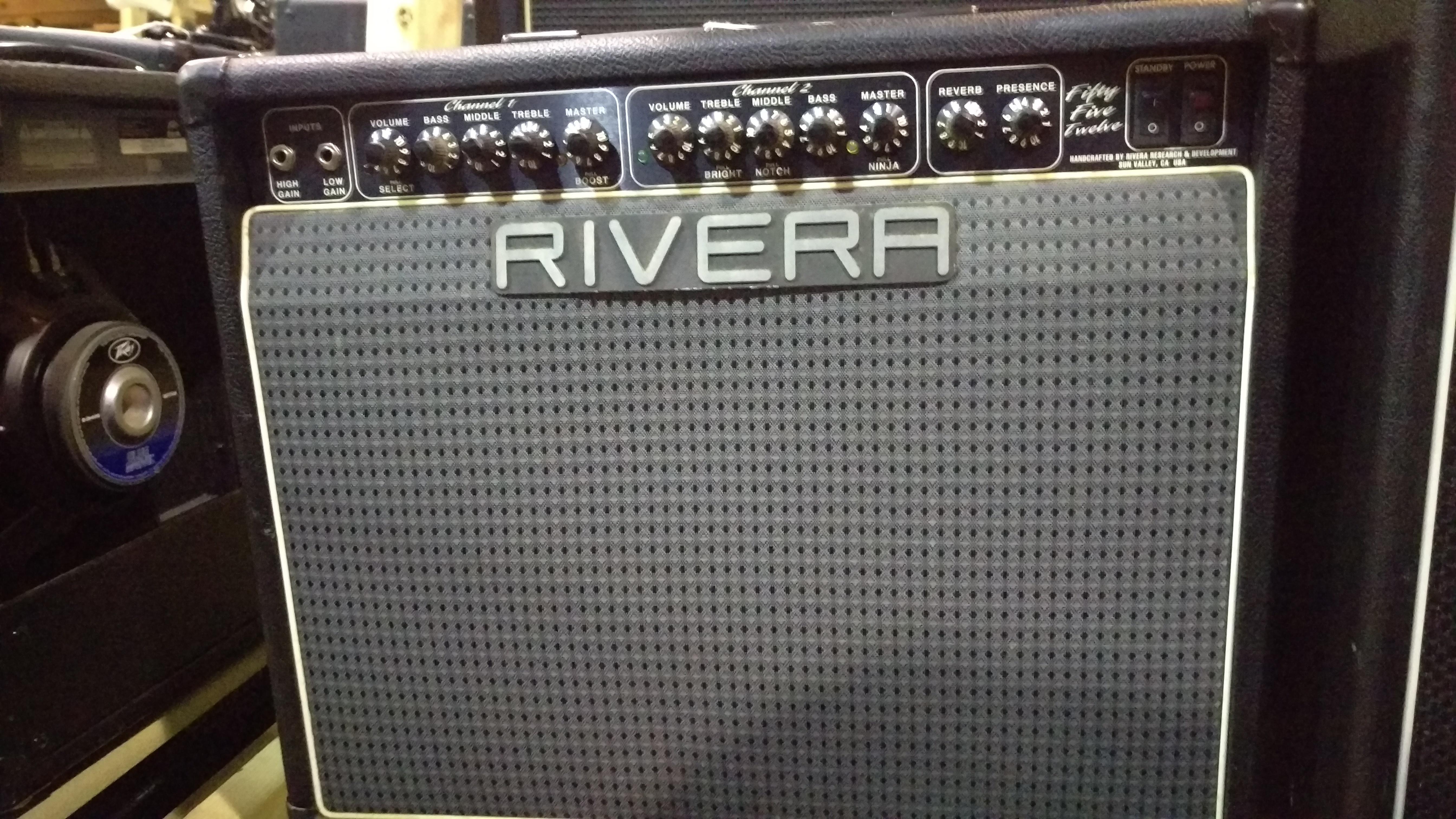 RIVERA FIFTY FIVE TWELVE 1X12 Guitar Combo Amplifier
