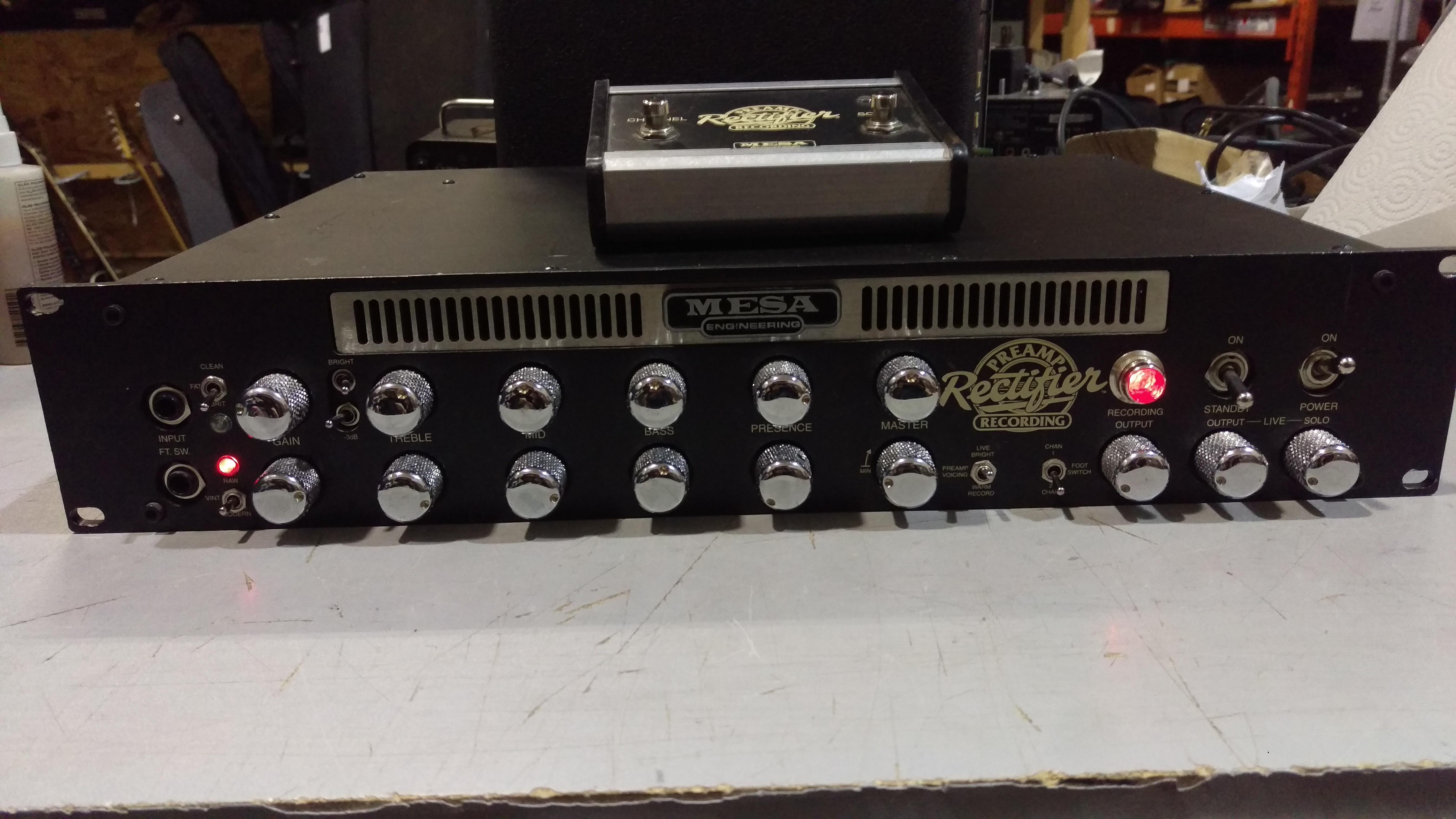 Mesa Boogie Rectifier Studio Preamp