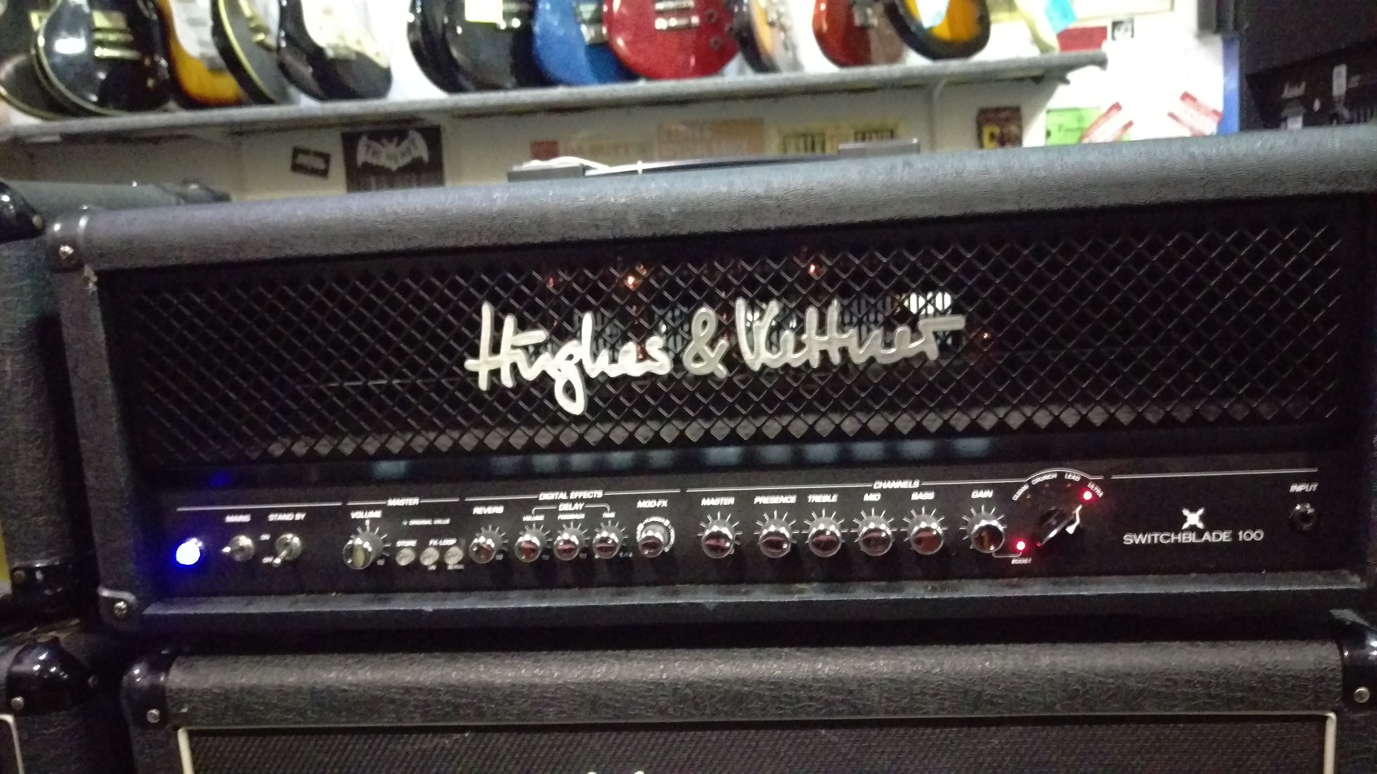 Hughes & Kettner Switchblade 100 Amp Head