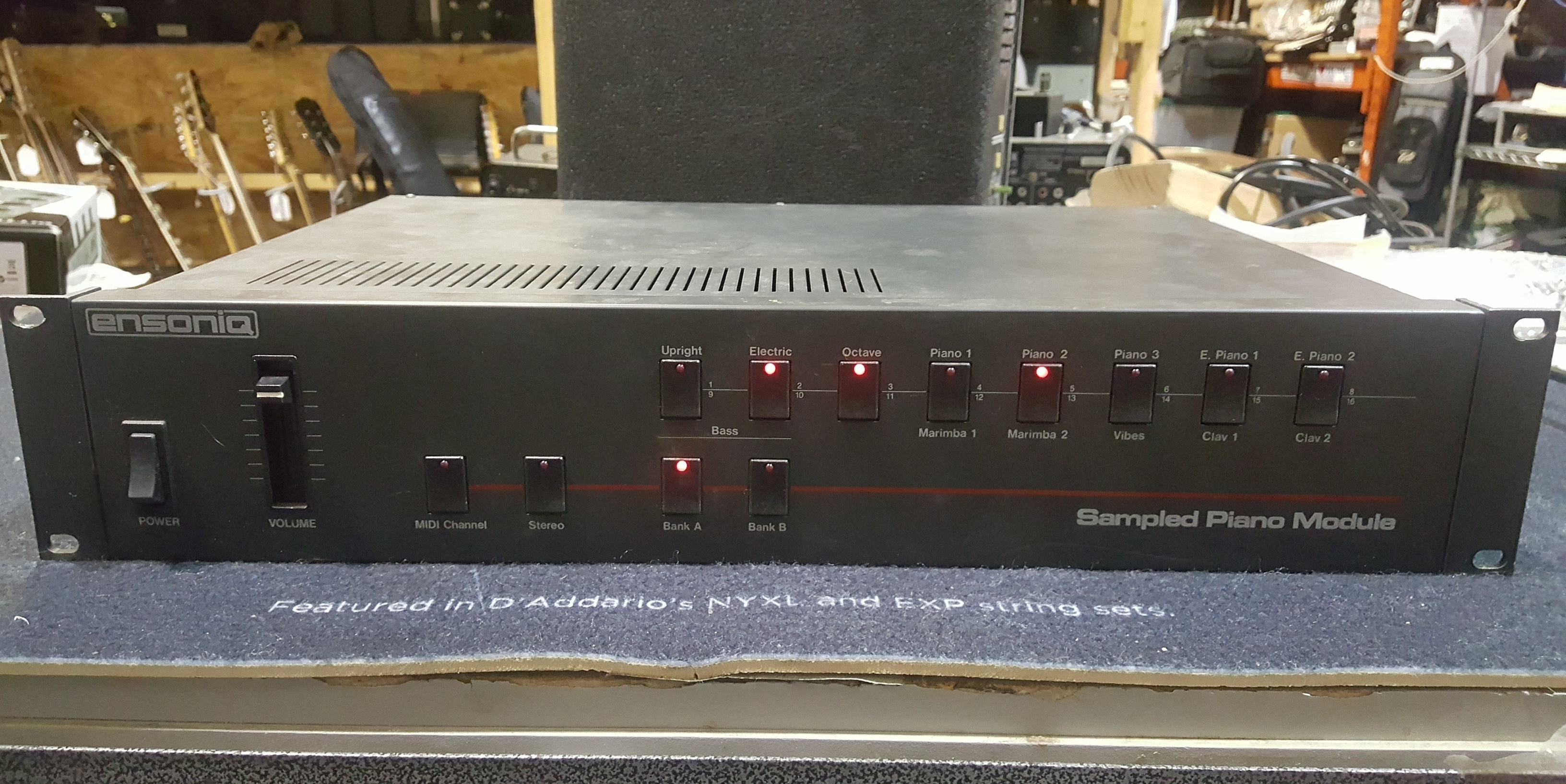 ENSONIQ SPM-1 SAMPLED PIANO MODULE Rackmount Unit