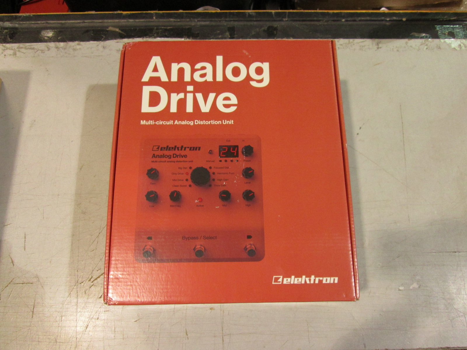 ELEKTRON ANALOG DRIVE MULTI-CIRCUIT DISTORTION UNIT