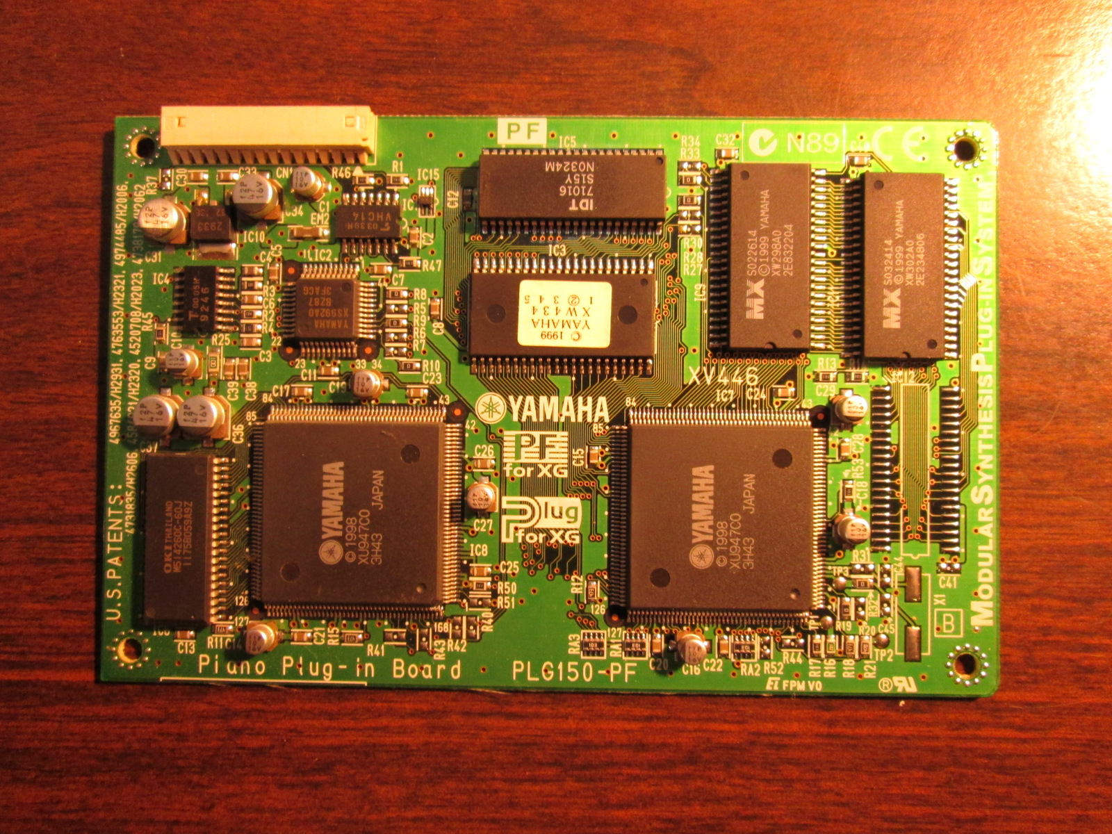 YAMAHA PLG-150-PF PIANO EXPANSION CARD **MOTIF**