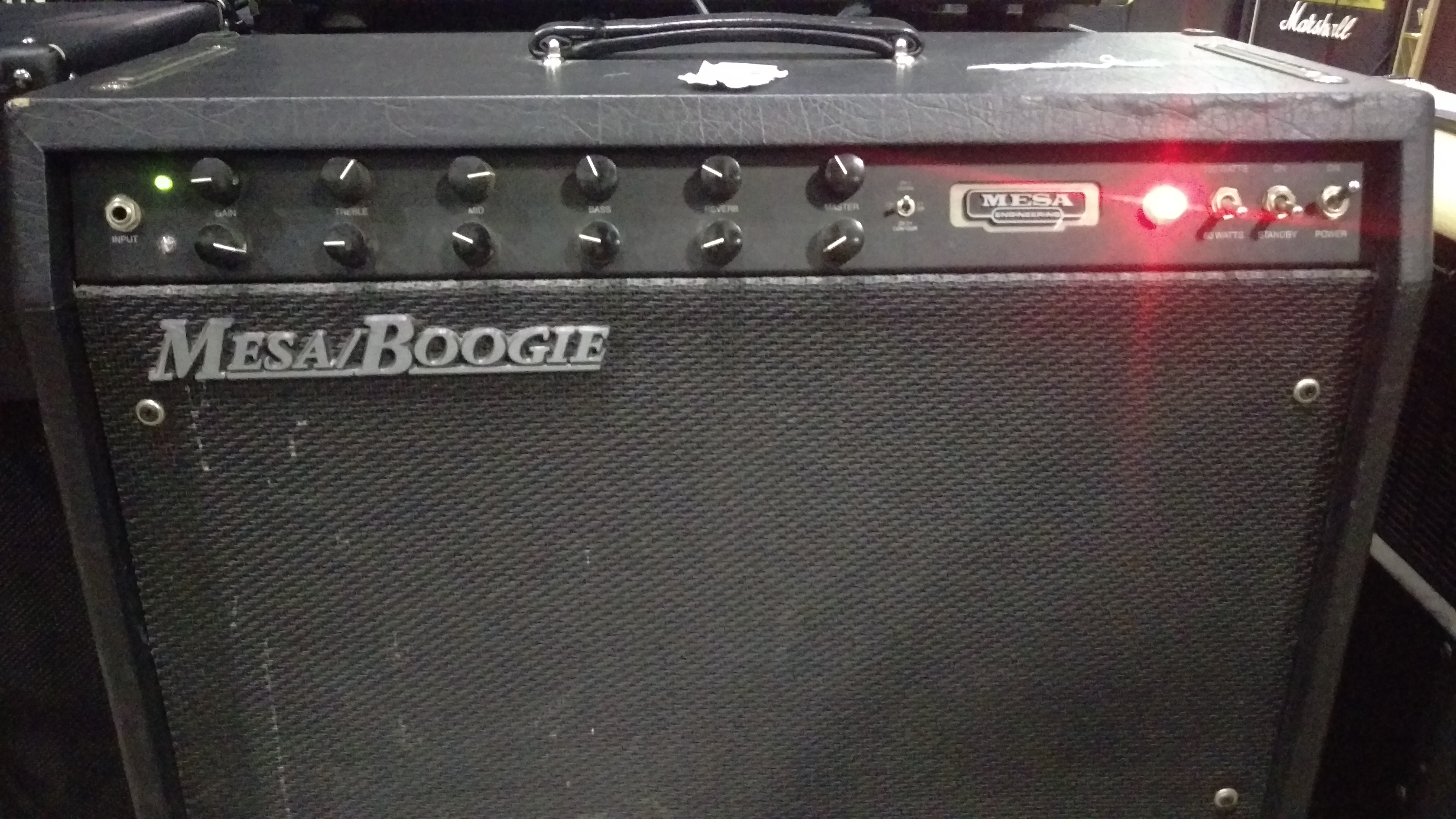 Mesa Boogie F100 Combo Amp