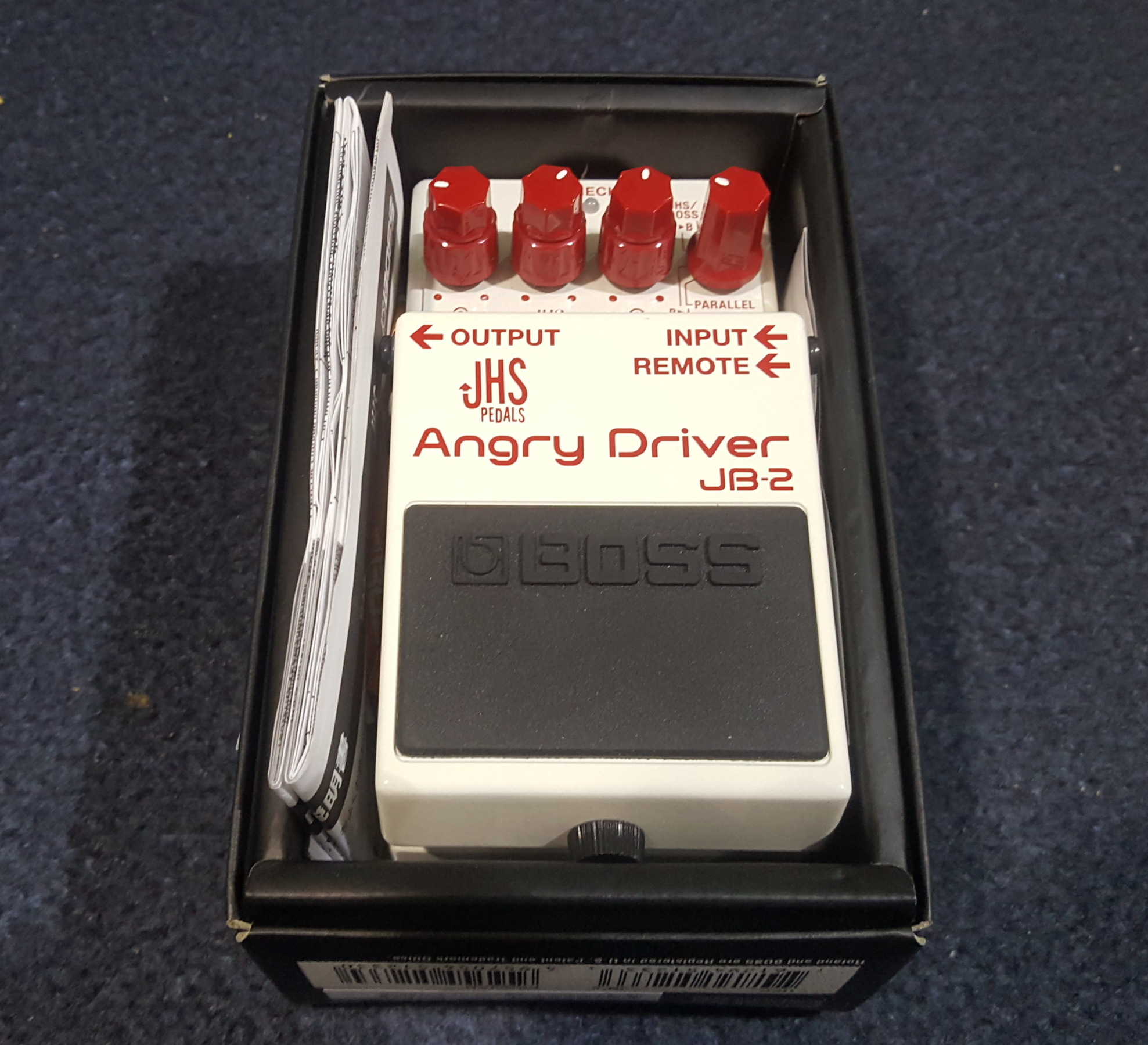 BOSS JB-2 ANGRY DRIVER Overdrive/Distortion Guitar Effects FX Pedal