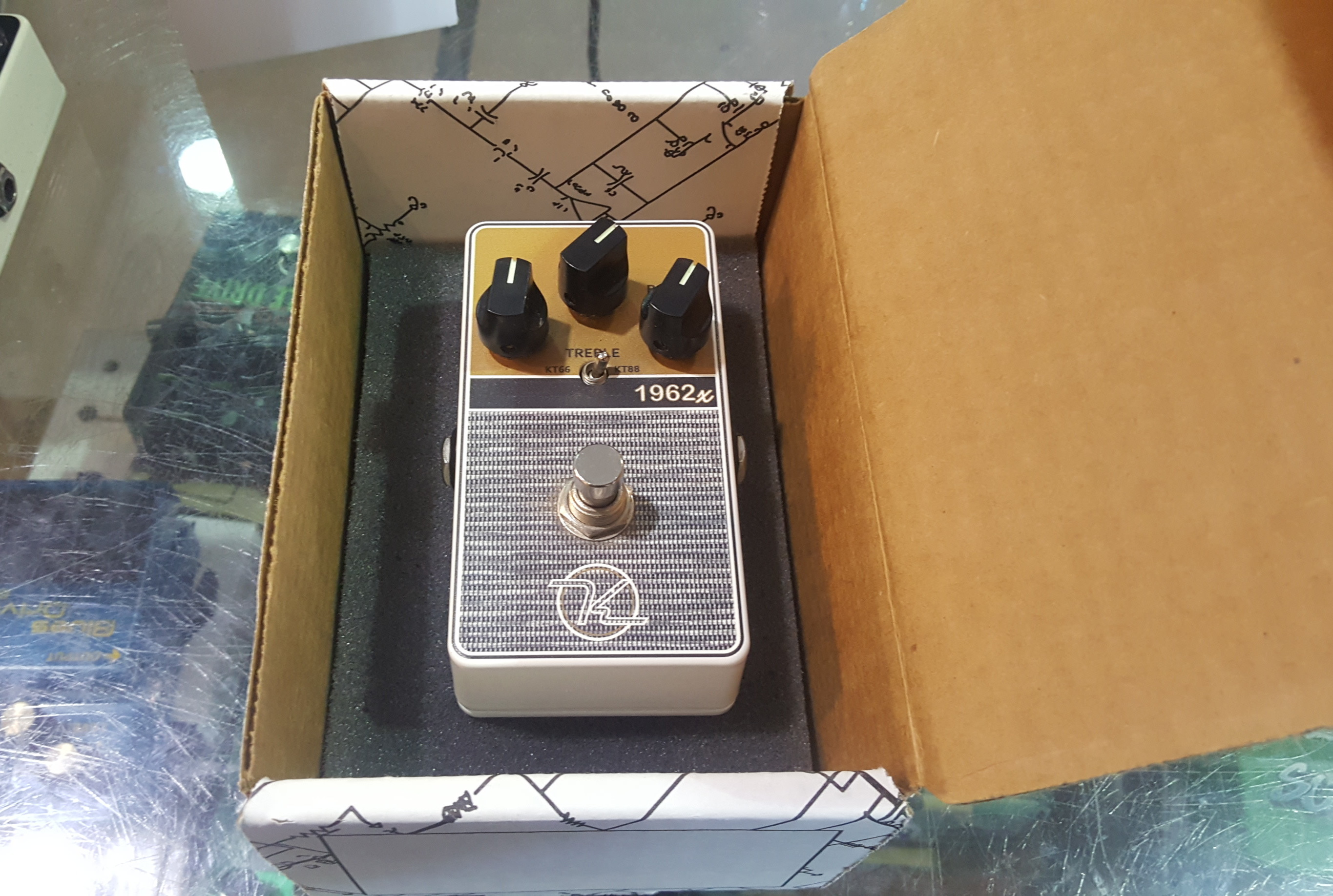 KEELEY 1962X 2-Mode British Overdrive Effects Fx Pedal