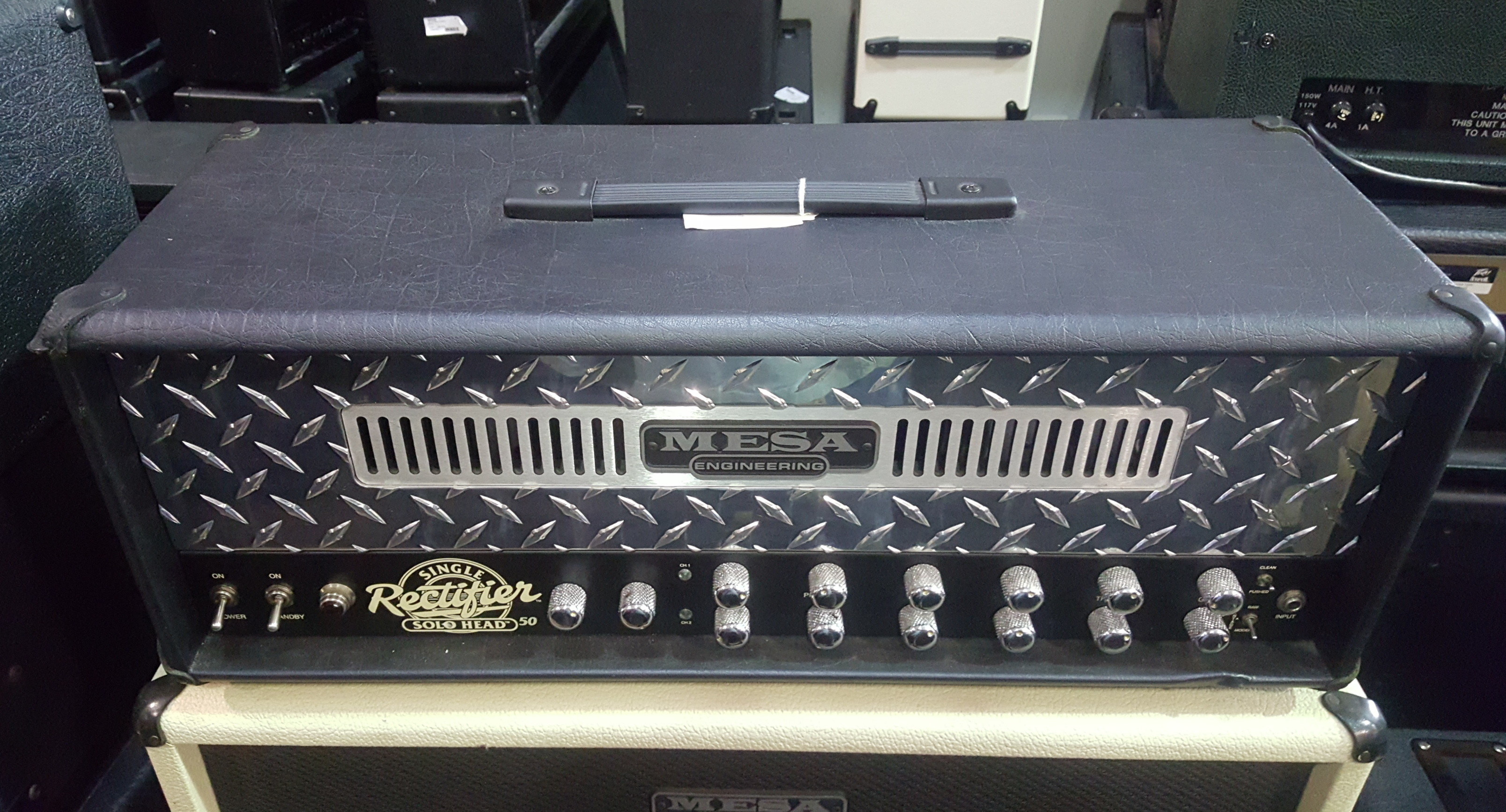 MESA BOOGIE SINGLE RECTIFIER 50W Tube Guitar Amp Head - LOCAL PICKUP ONLY!