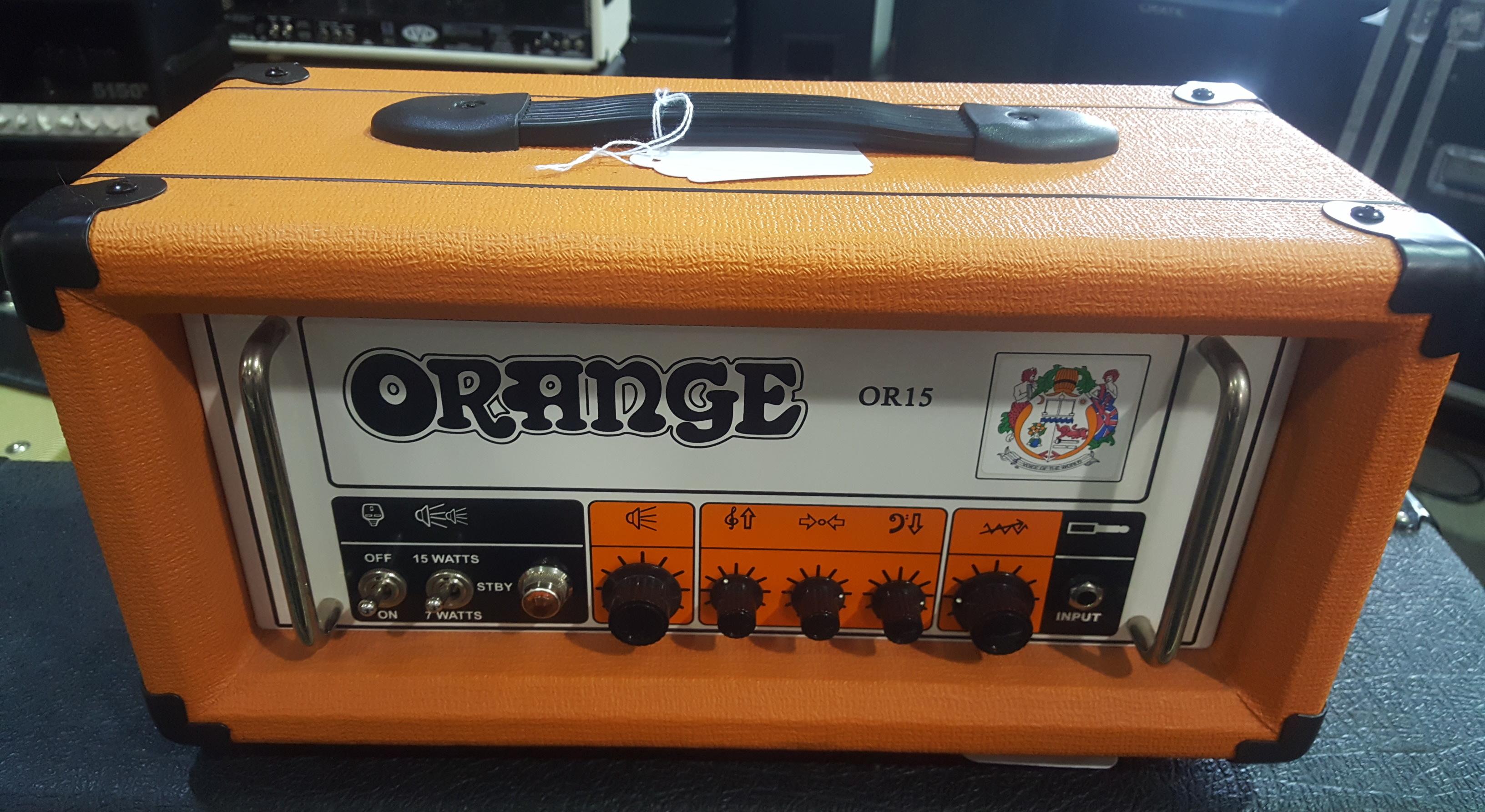 ORANGE OR15 15W Tube Guitar Amp Head