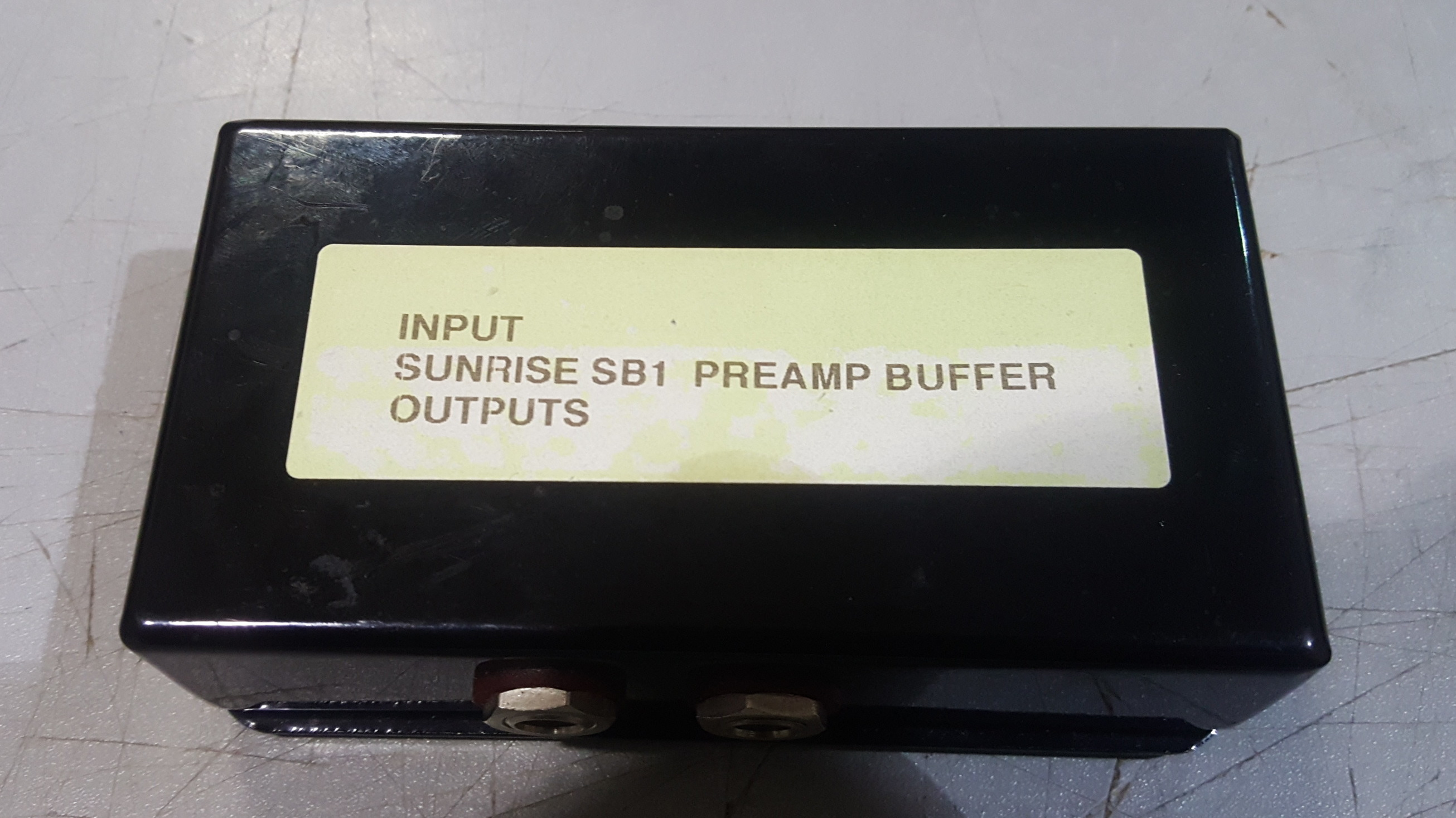 SUNRISE SB-1 Preamp Buffer Box