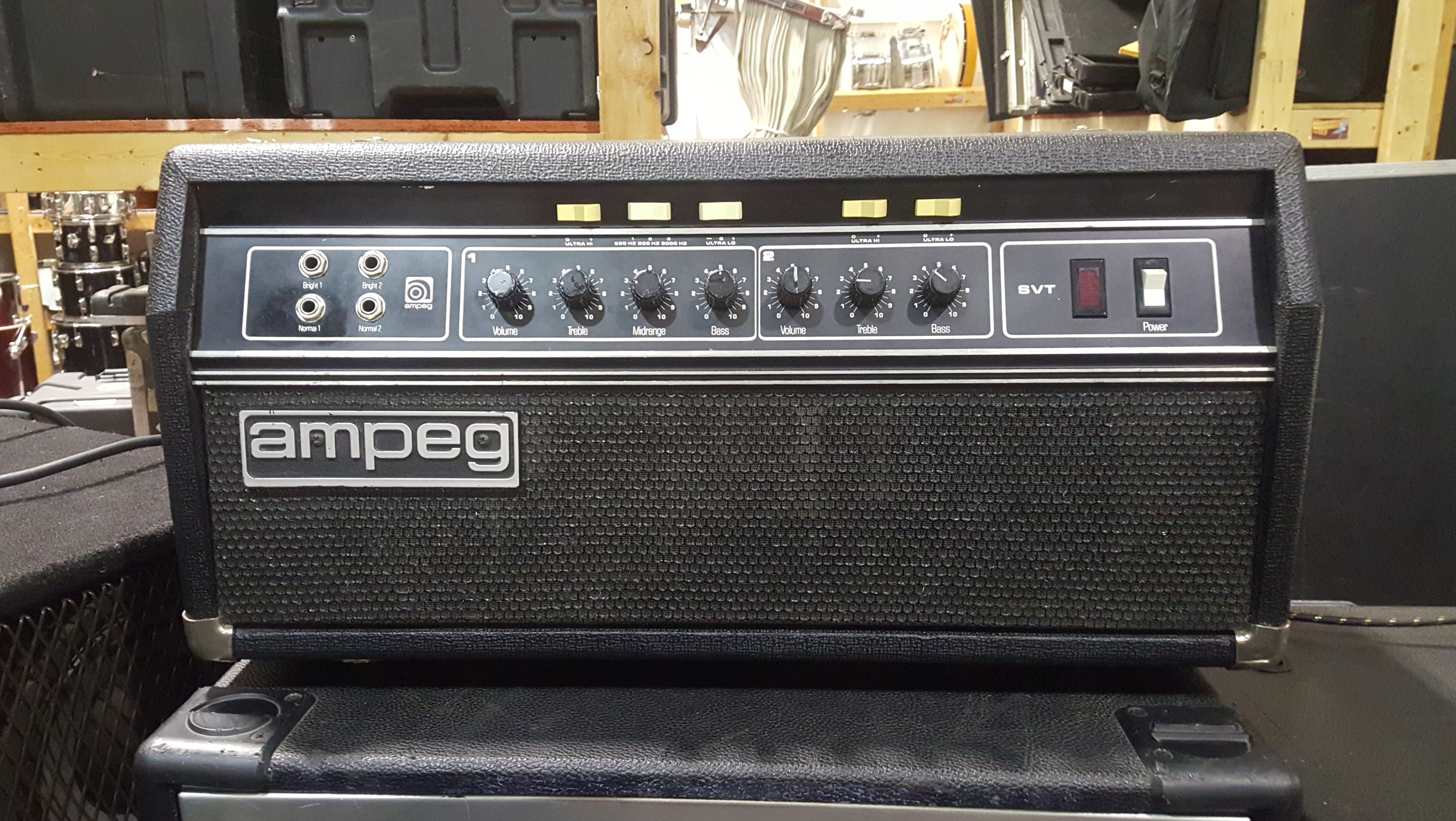 AMPEG SVT SKUNK WORKS LIMITED EDITION Bass Amp Head - LOCAL PICKUP ONLY!